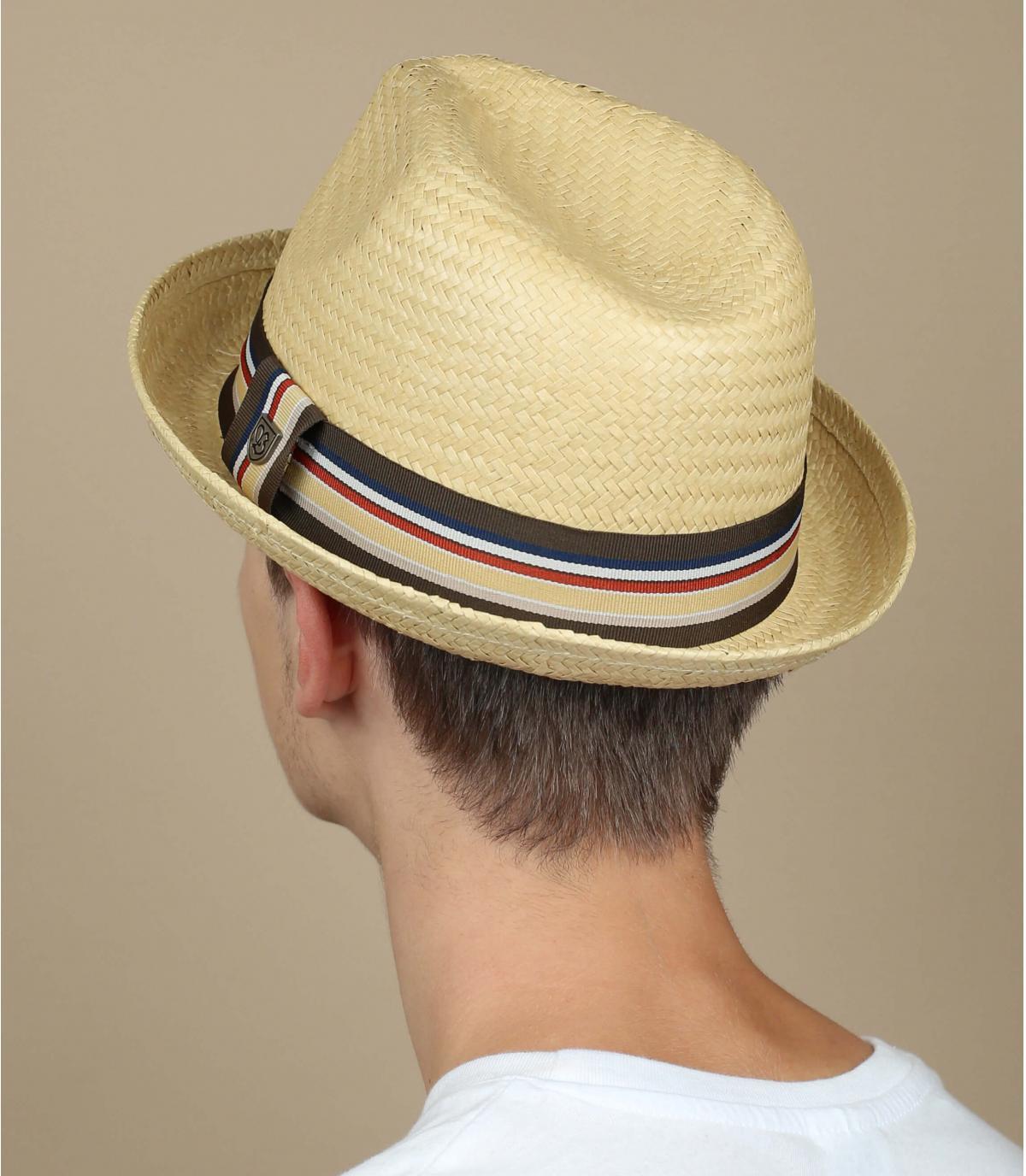 Sombrero de paja hombre