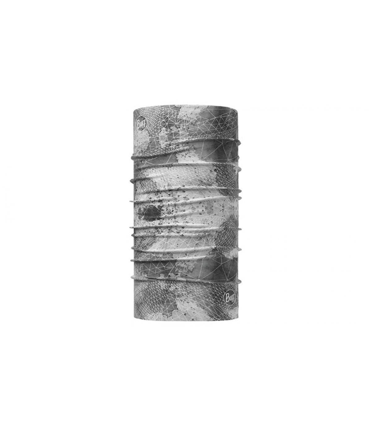 Buff gris claro impreso