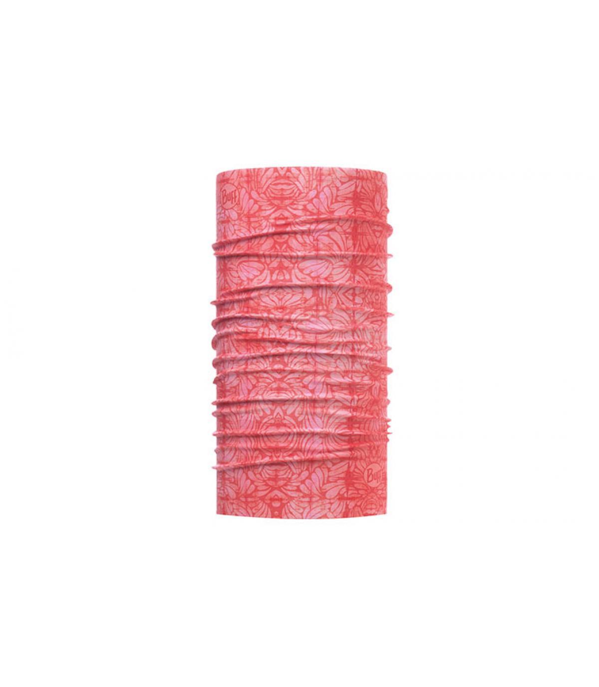 Buff impreso rosa