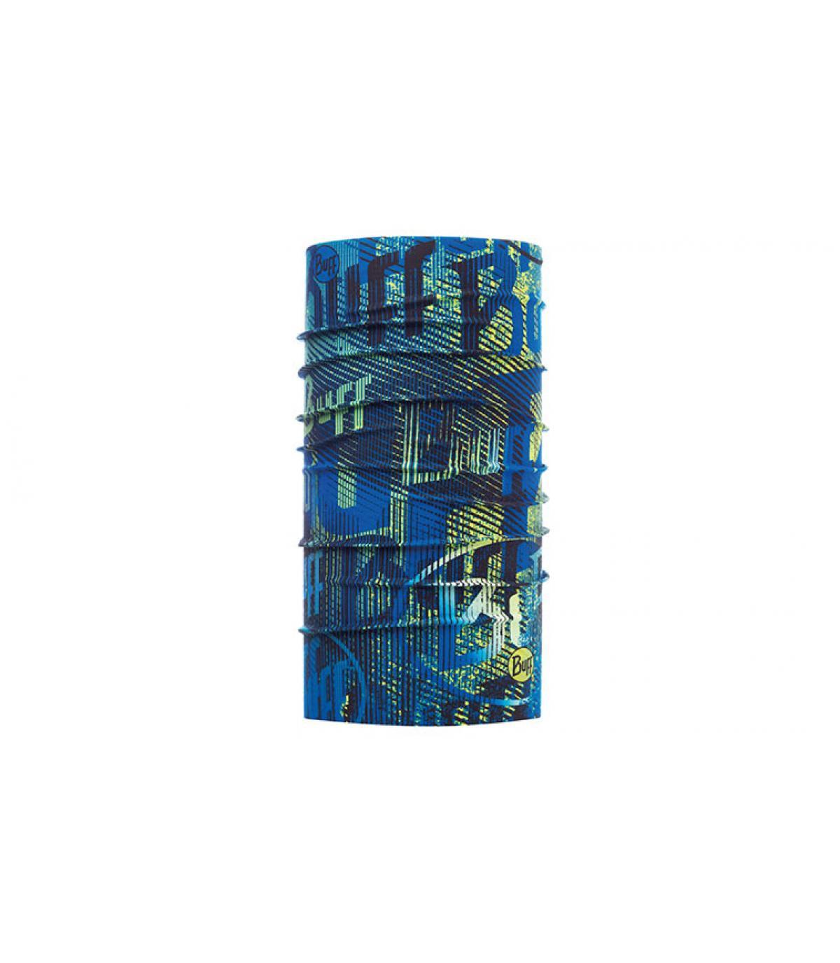 Buff azul impreso logo