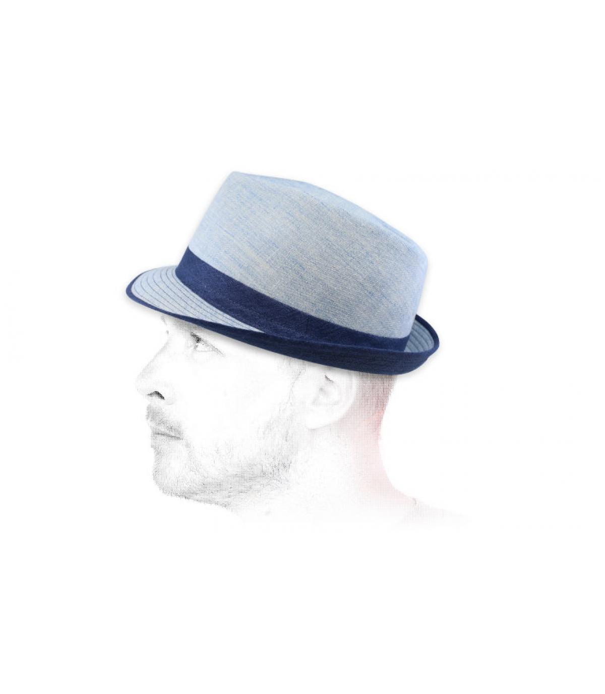 trilby tela azul