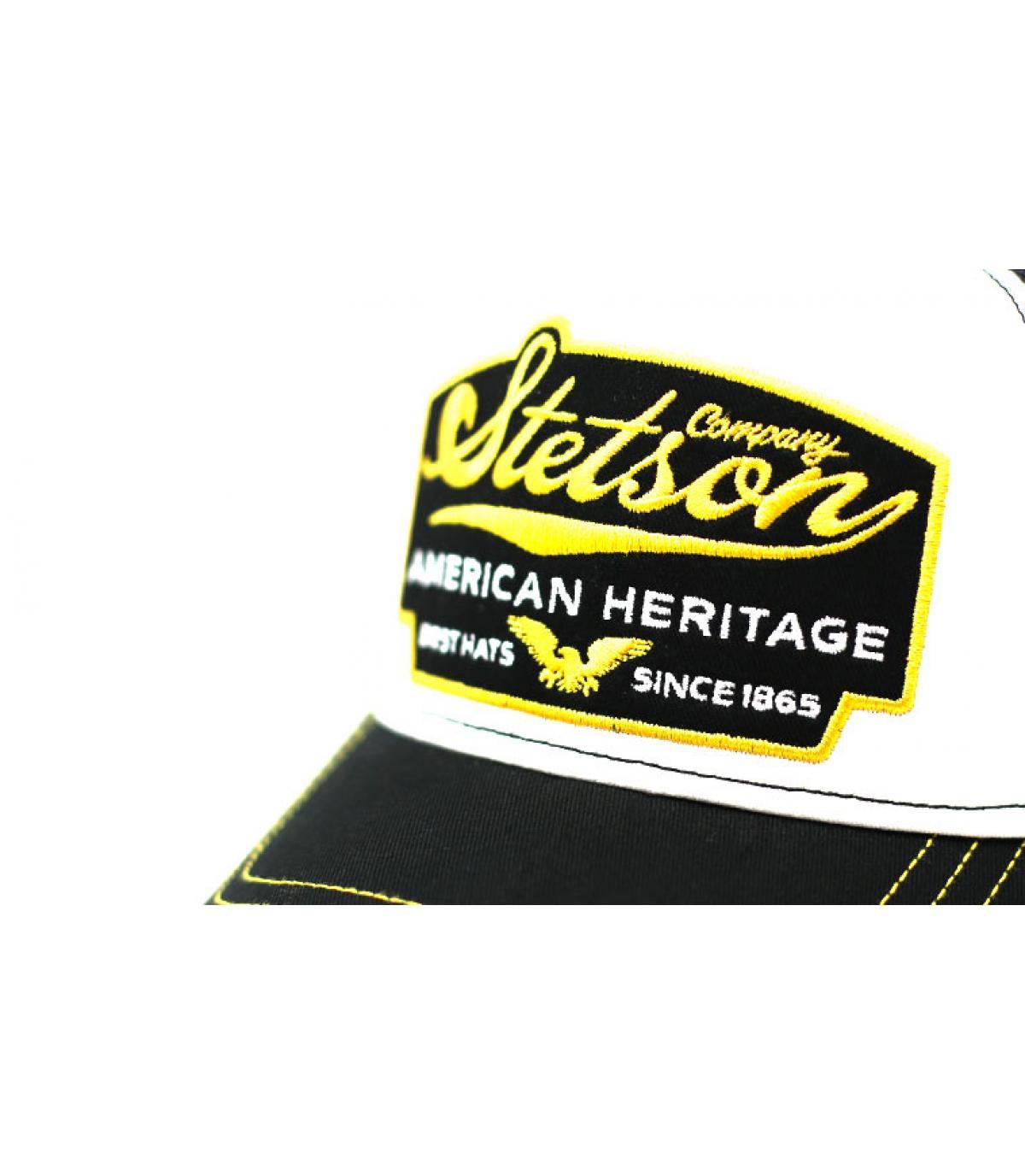 Detalles Trucker cap american vintage black imagen 3