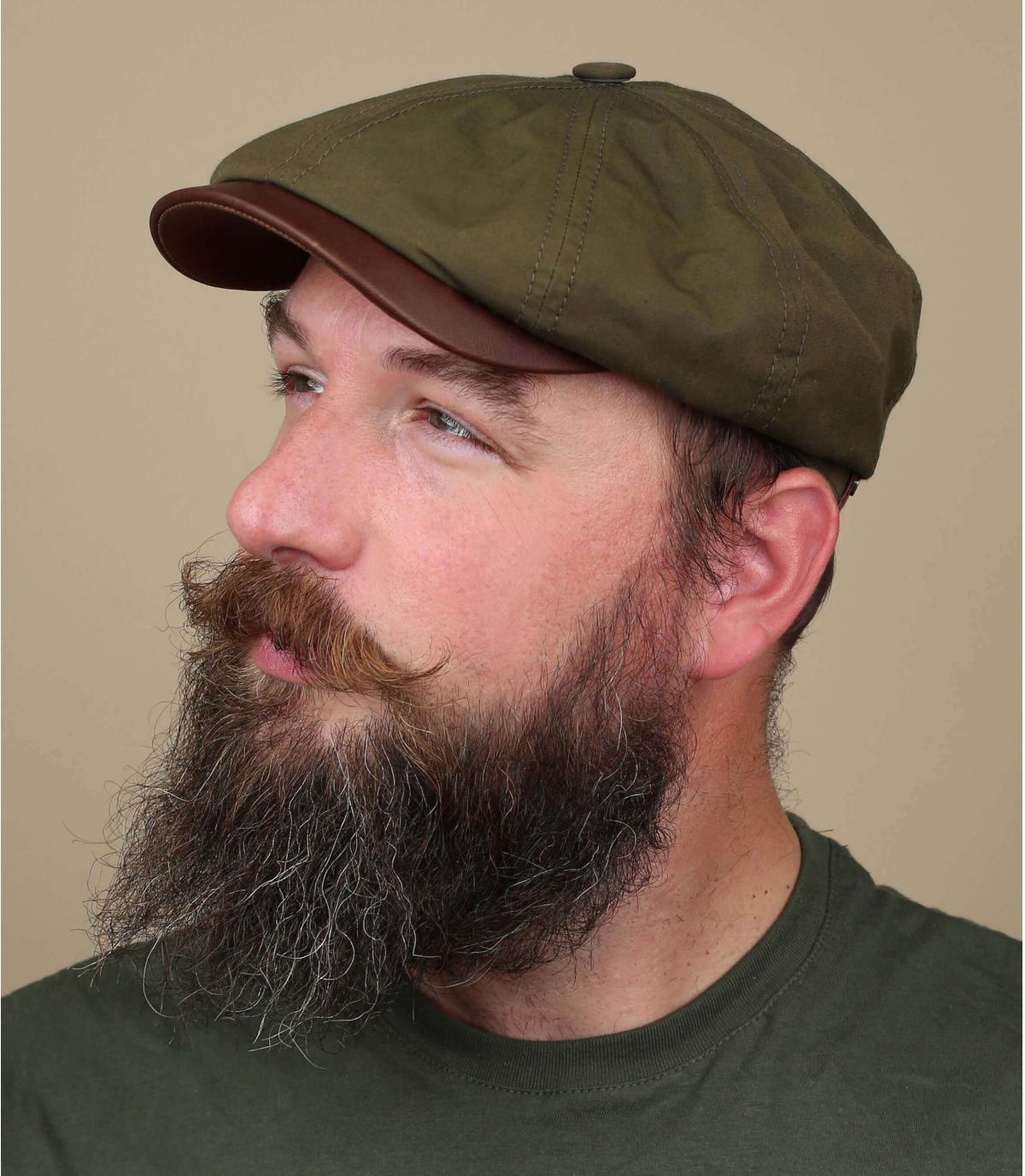 gorra repartidor verde Stetson