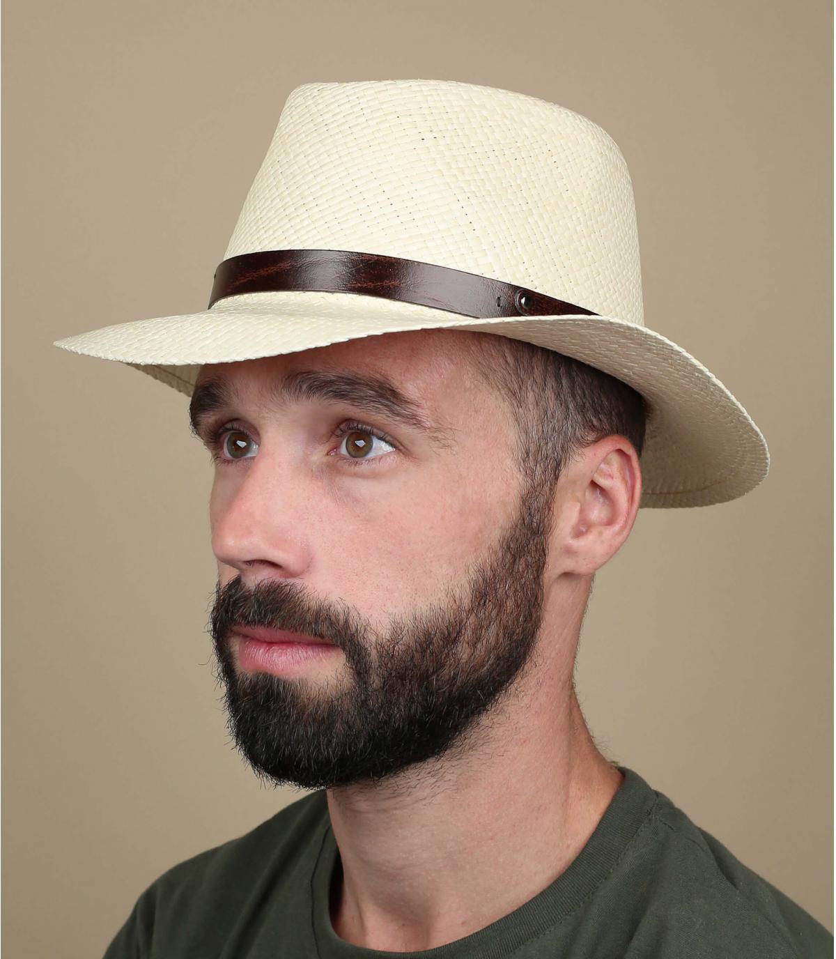 sombrero panama beis