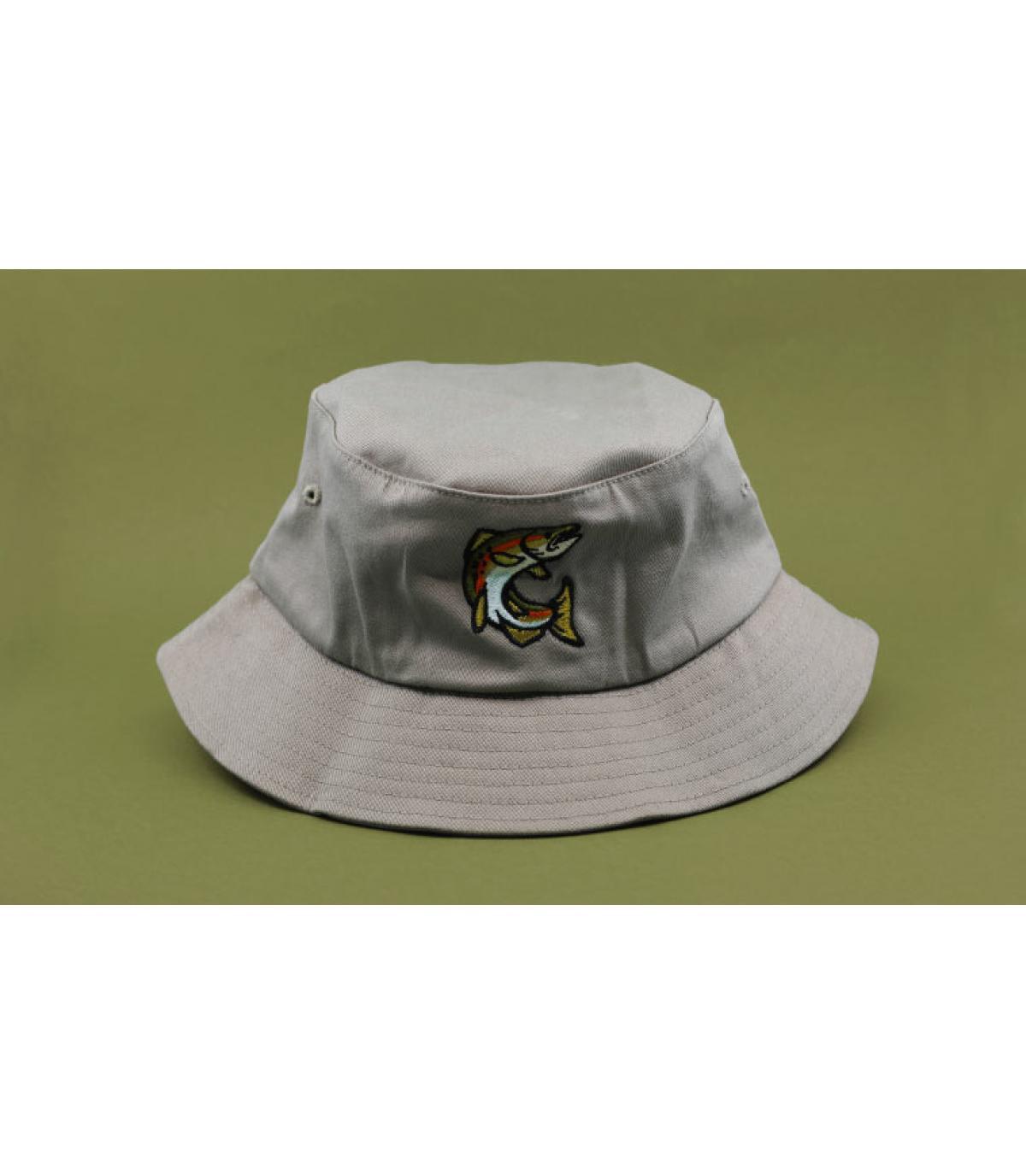 sombrero pez azul