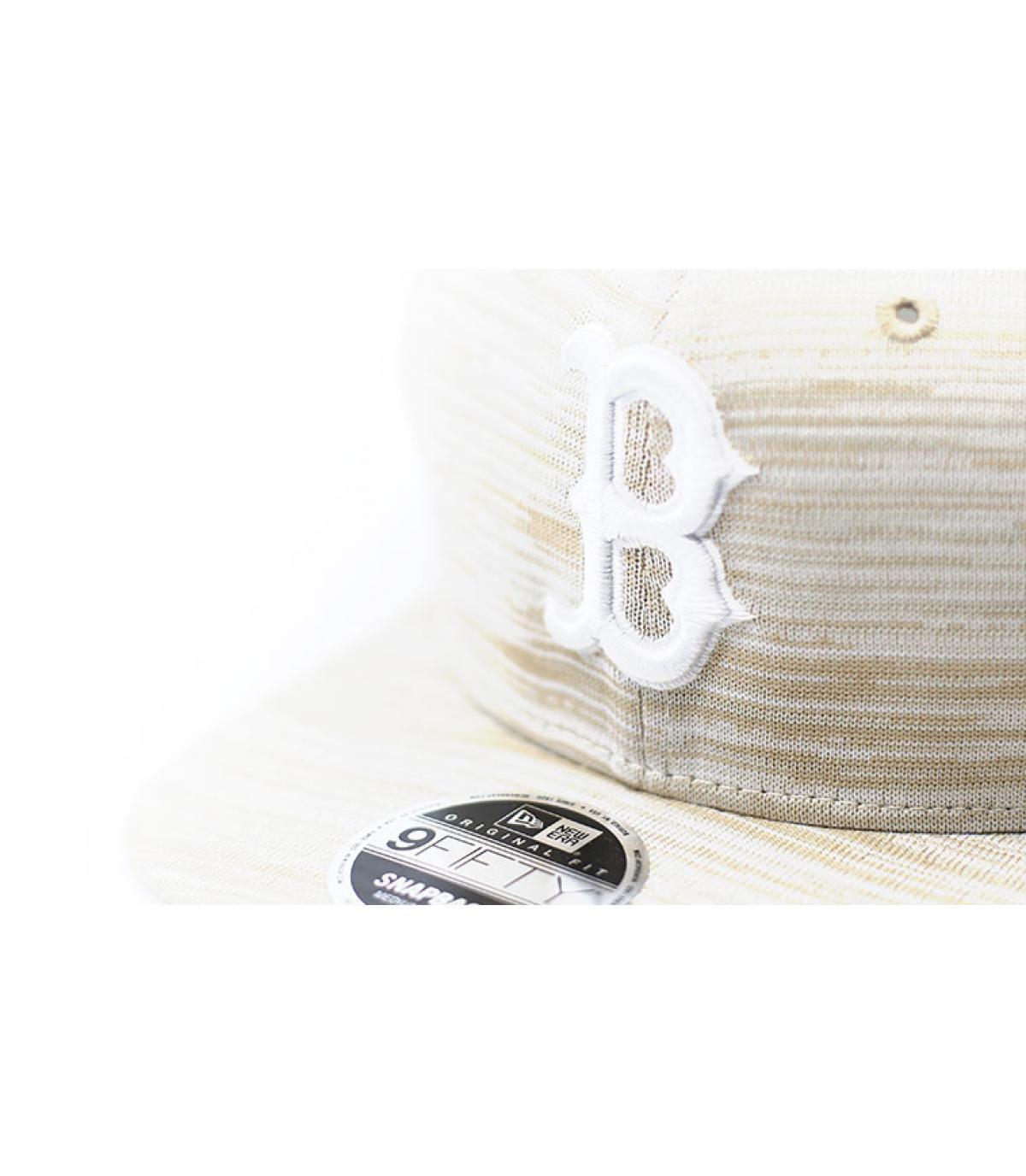 Detalles Engineered Fit 9Fifty Boston stone white imagen 3