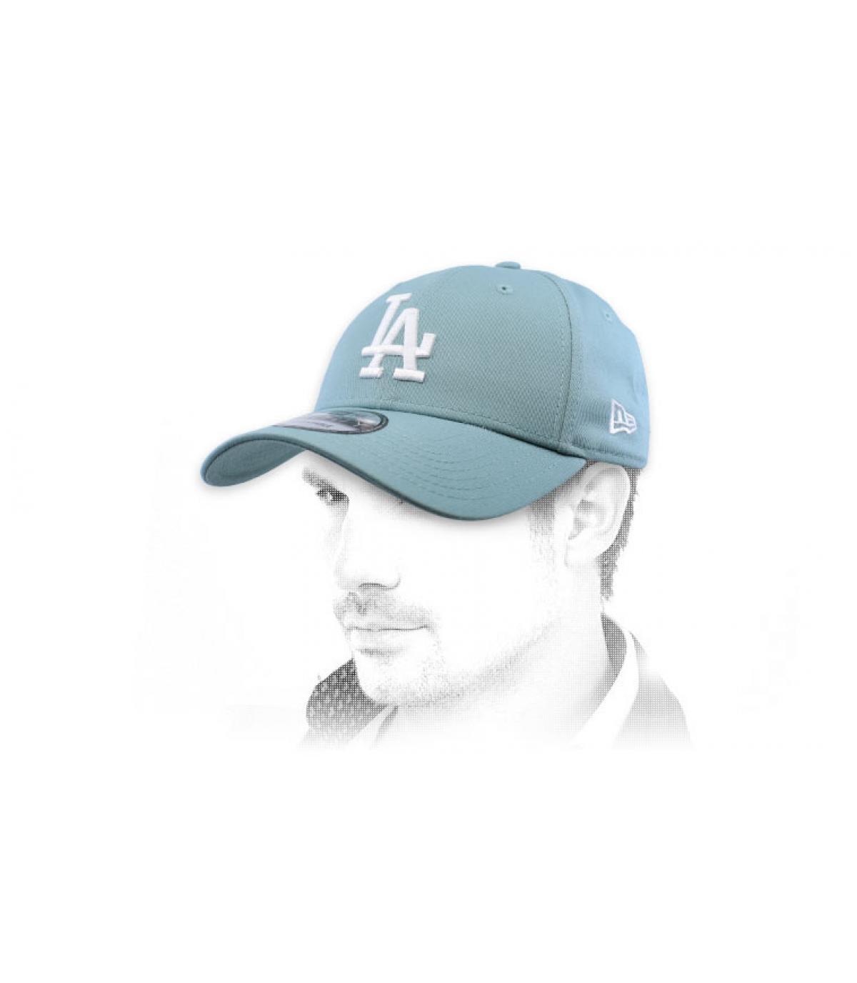gorra LA azul