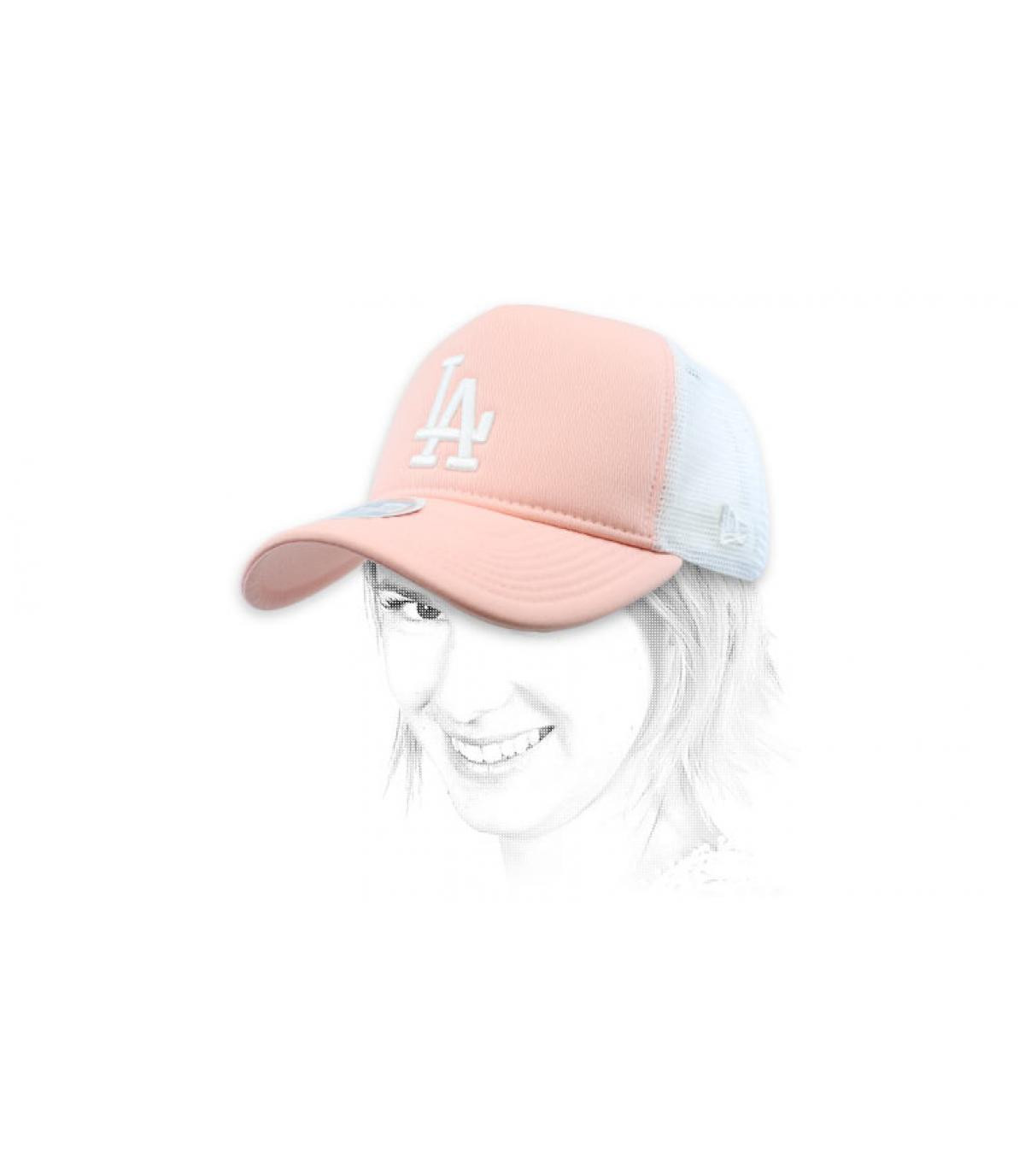 trucker LA rosa mujer