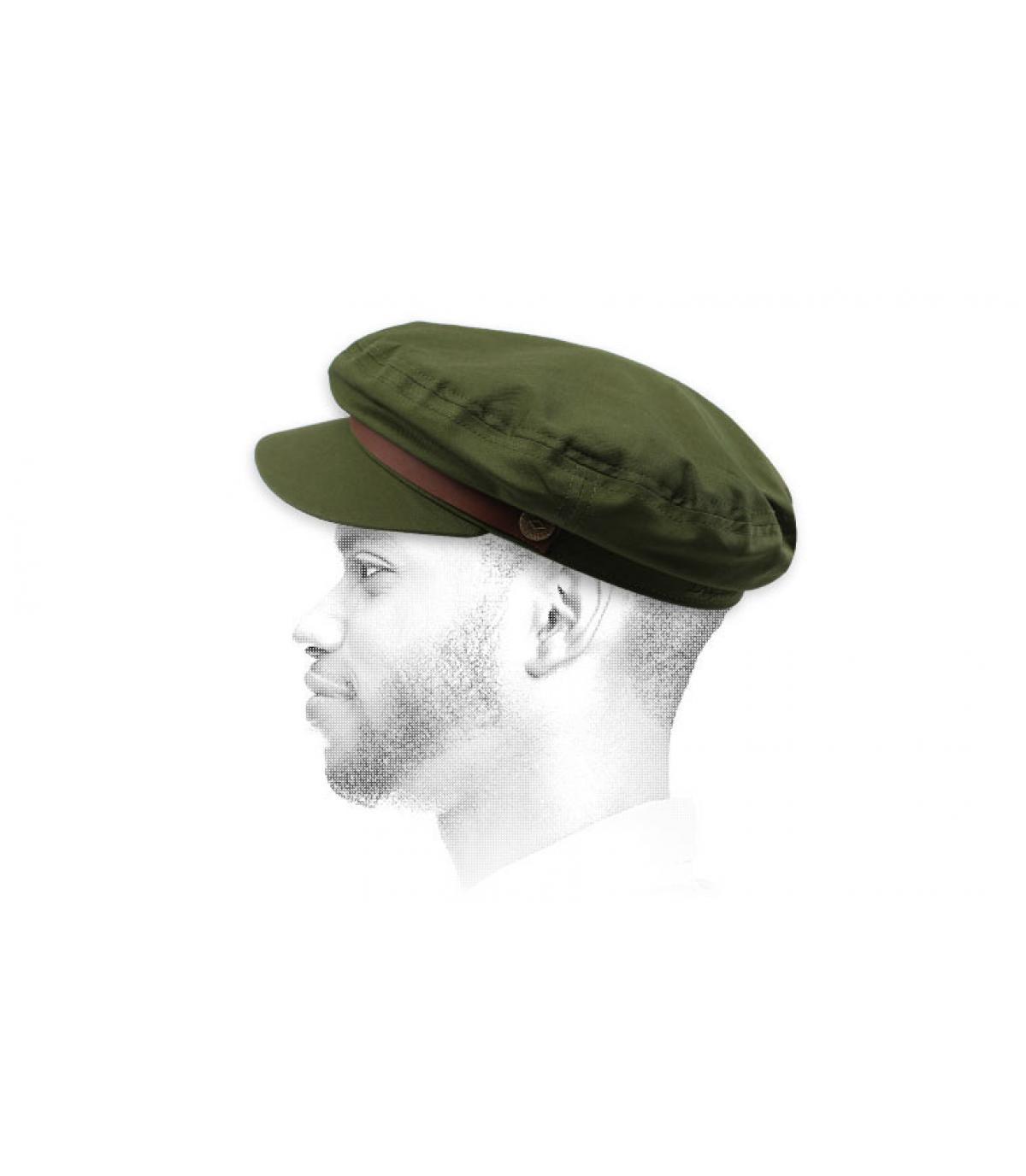 gorra marinera verde Brixton