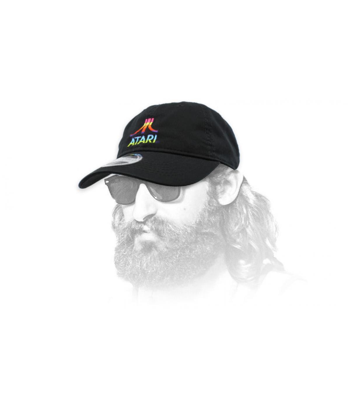 gorra Atari logo