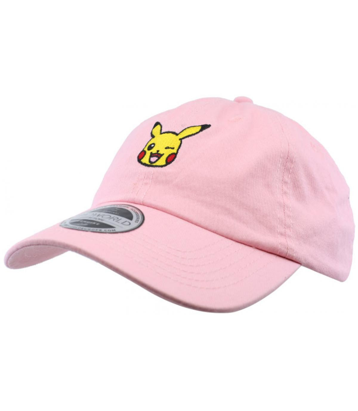 gorra Pikachu rosa