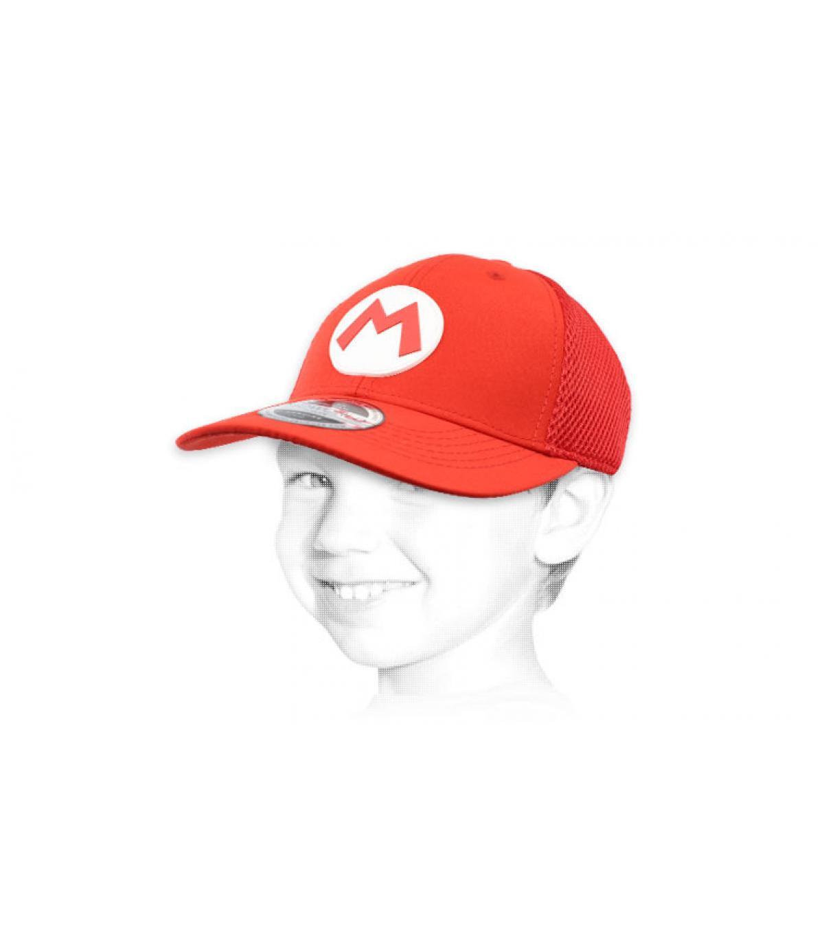 gorra Mario niño