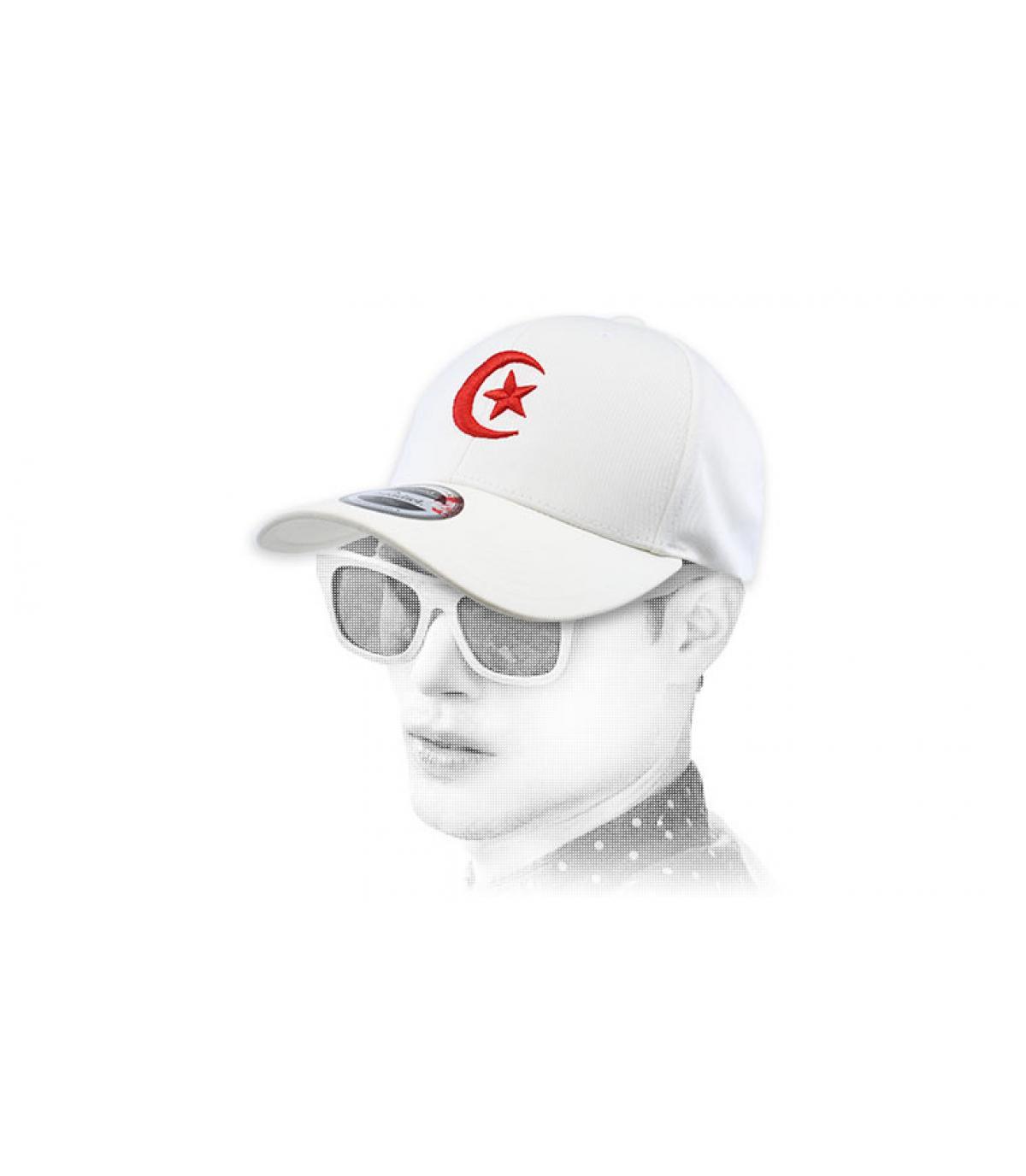 gorra Túnez blanco