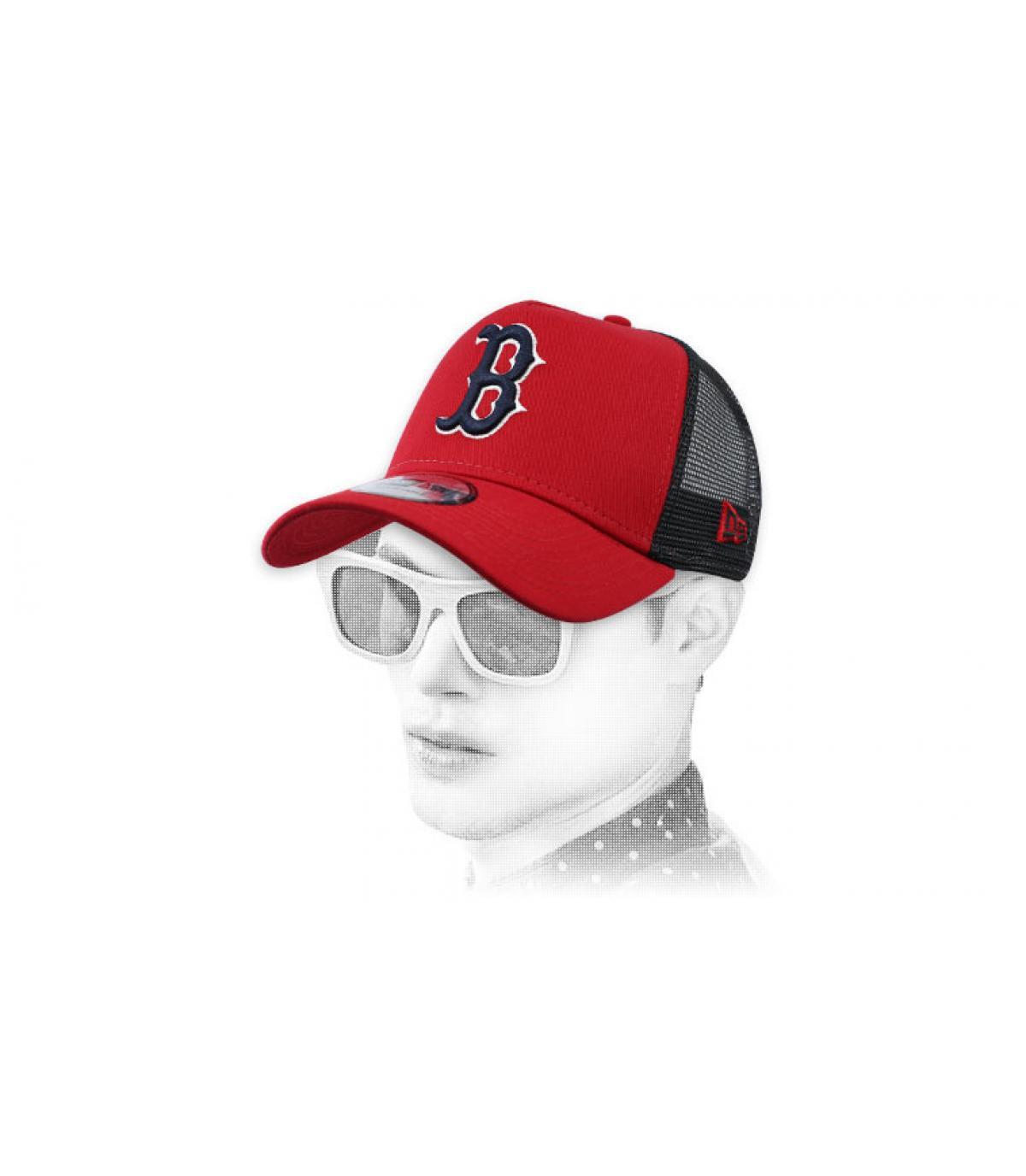trucker B rojo