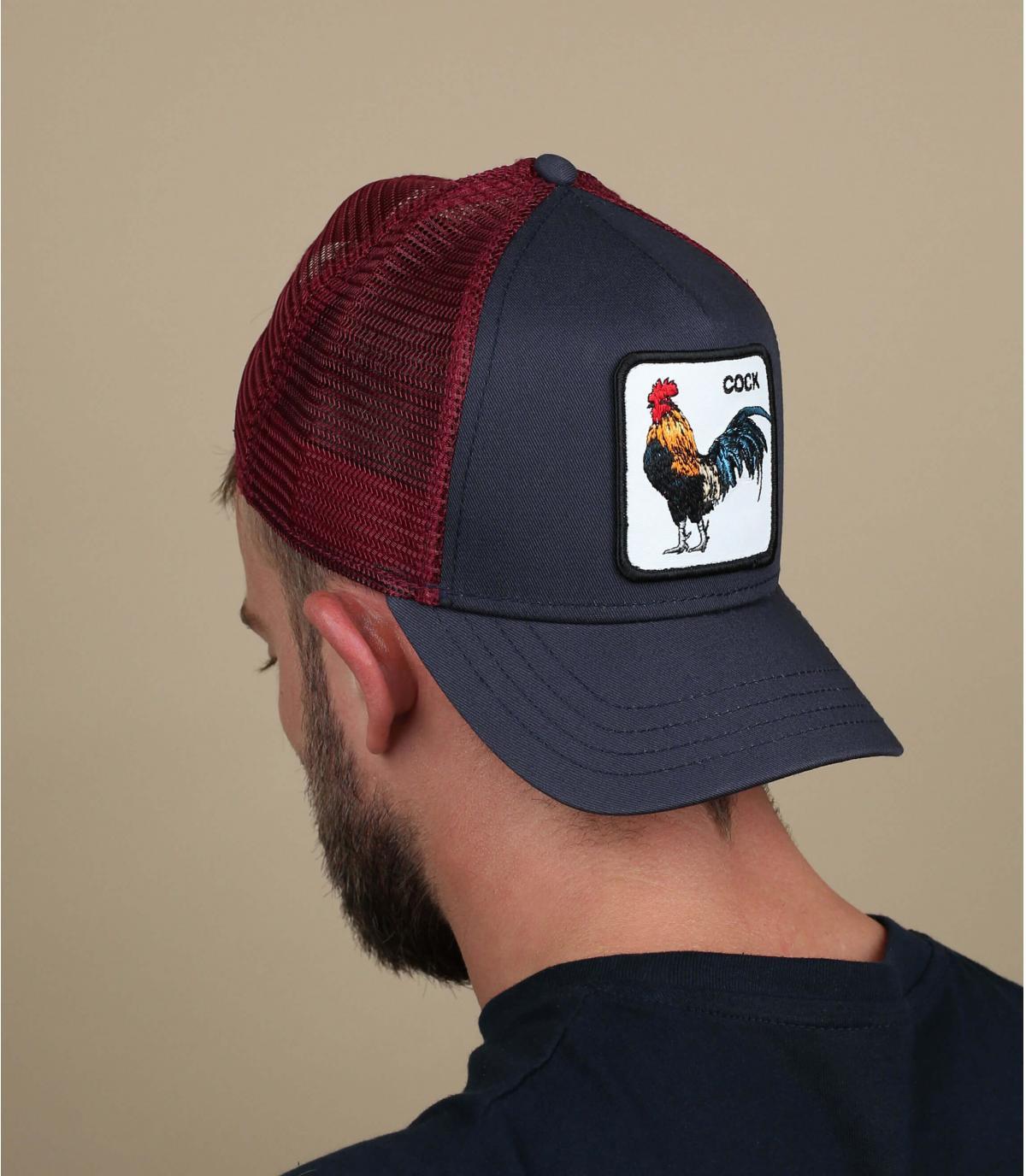 trucker gallo Goorin azul