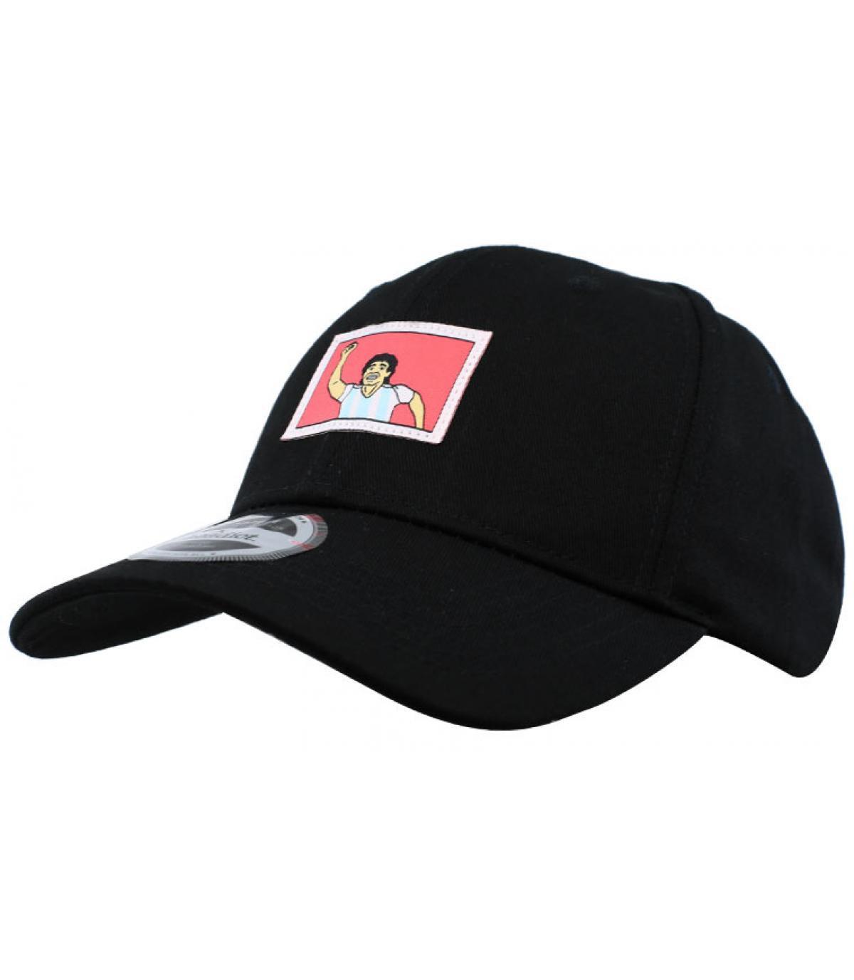 gorra negro gol Nápoles