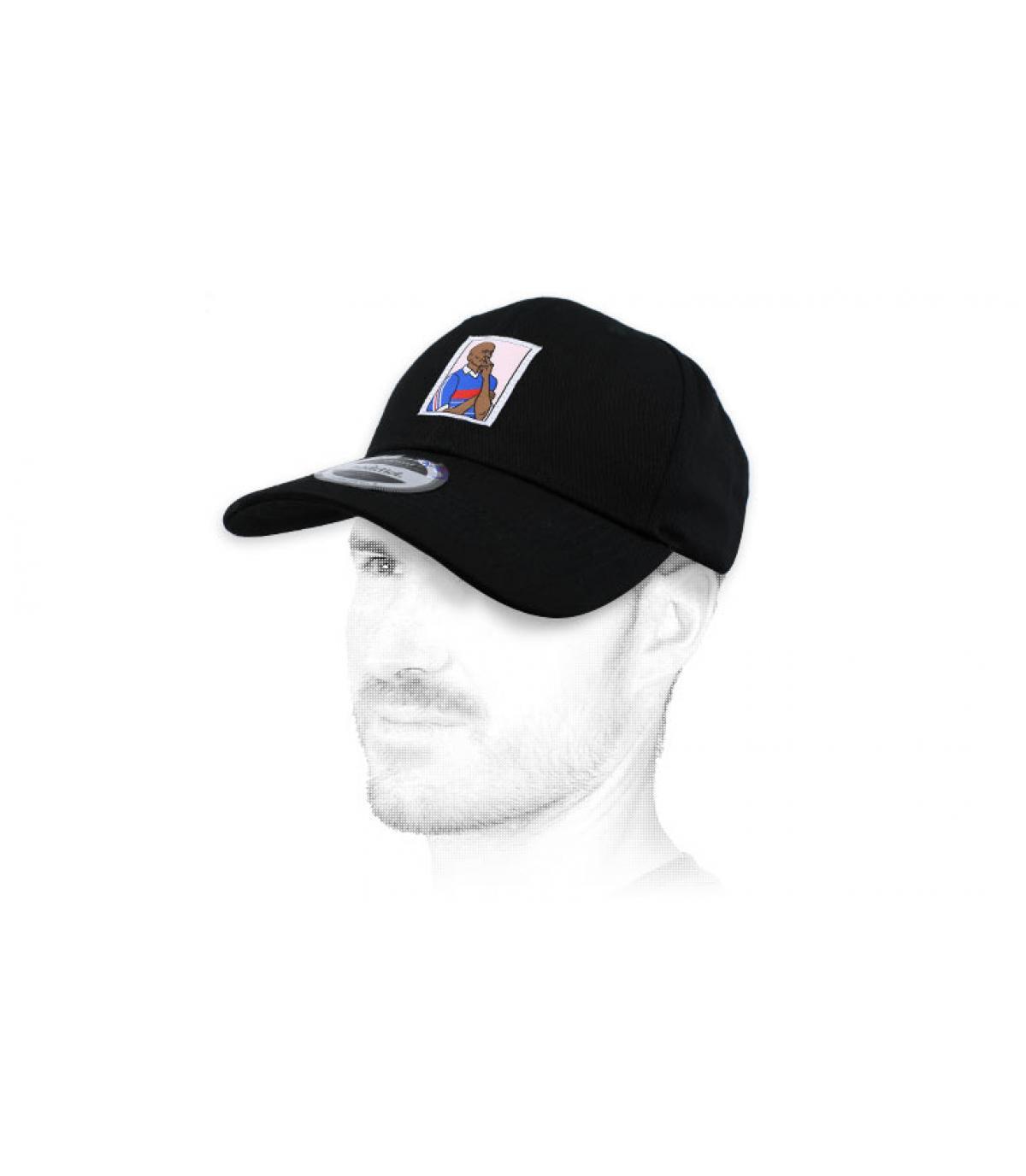 gorra gol negro
