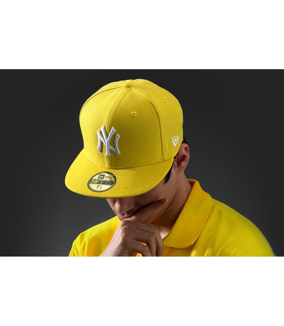 MLB Basic New York yellow