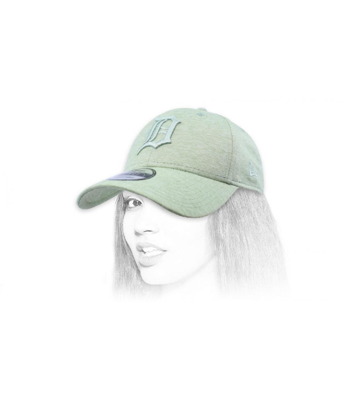 gorra D verde claro