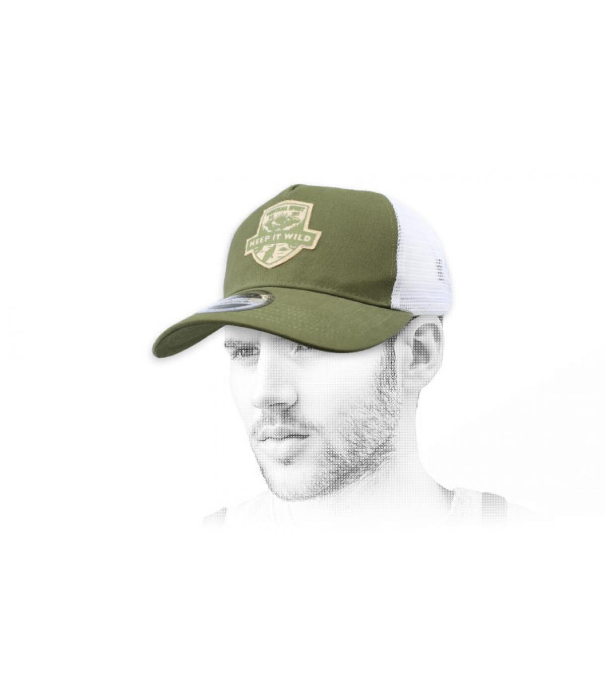 trucker verde Wild