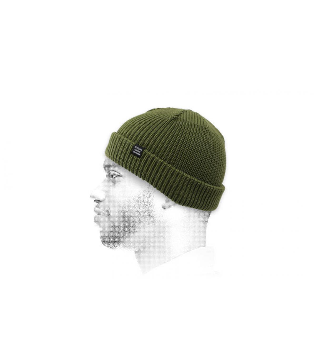 gorro docker verde Herschel