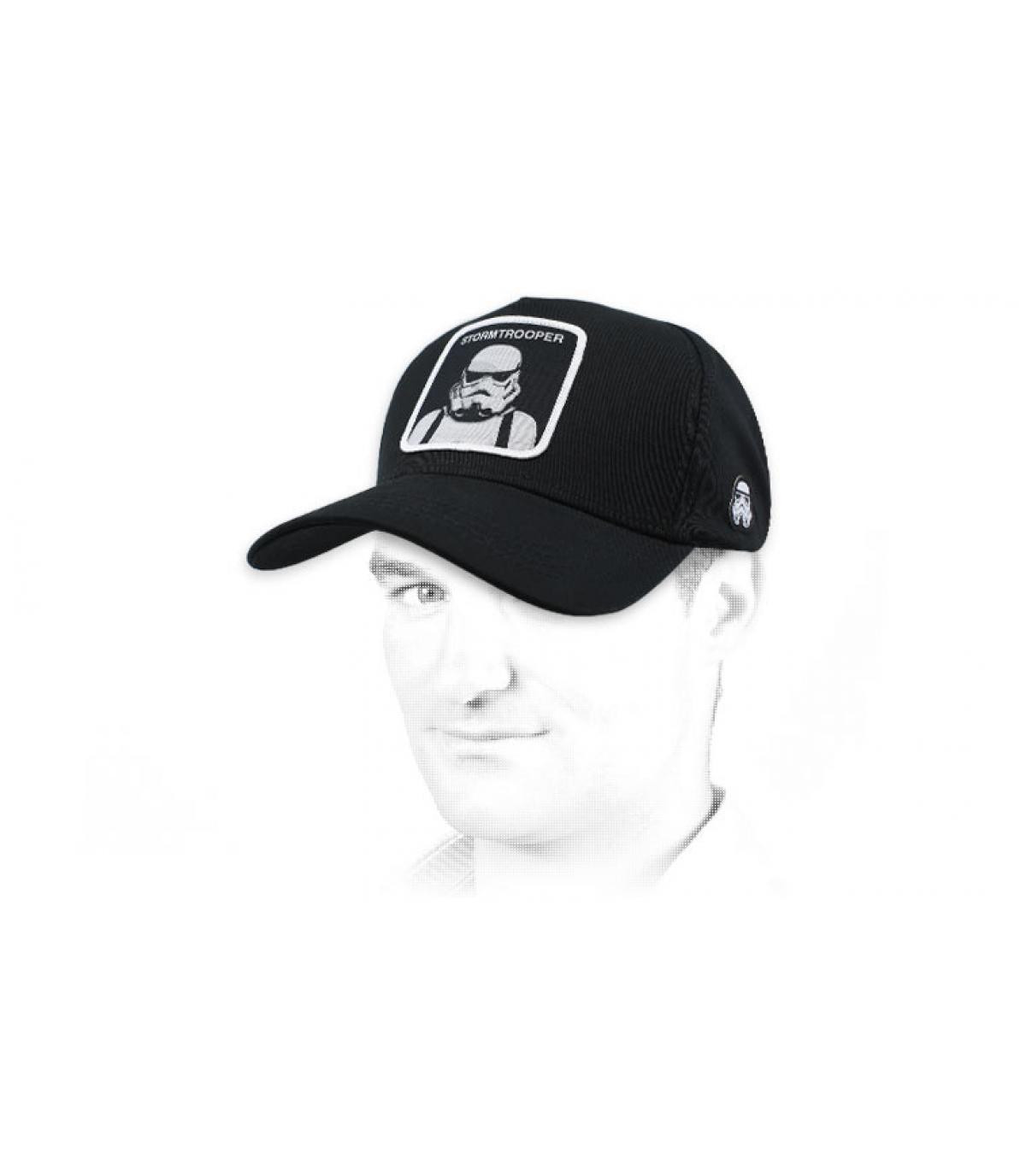 gorra Stormtrooper negro