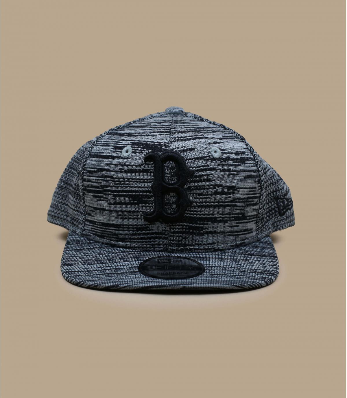 Detalles Engineered Fit 9Fifty Boston gray black imagen 2
