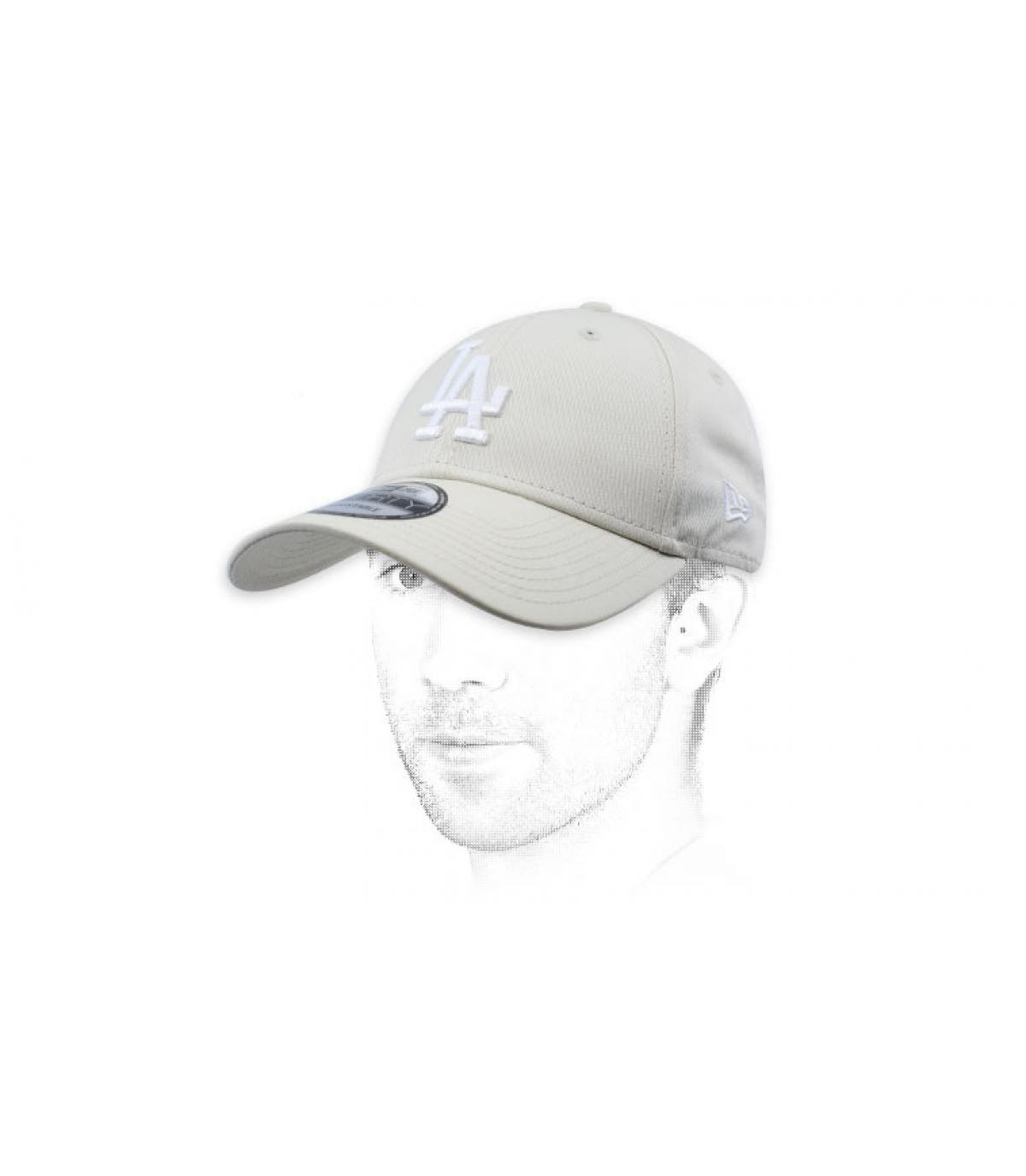 gorra LA blanco