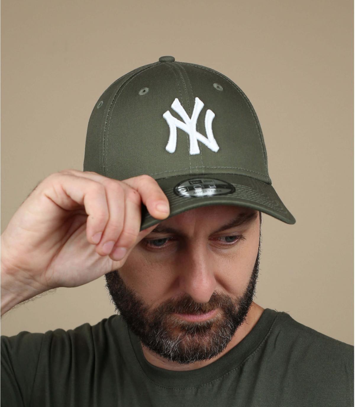 gorra NY verde