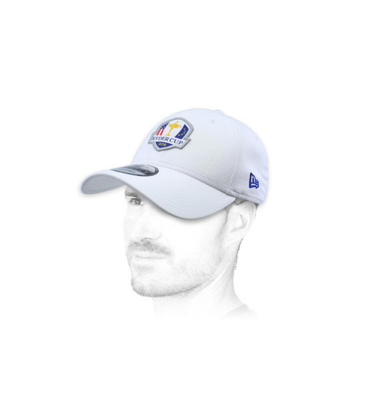 gorra golf Ryder Cup blanco