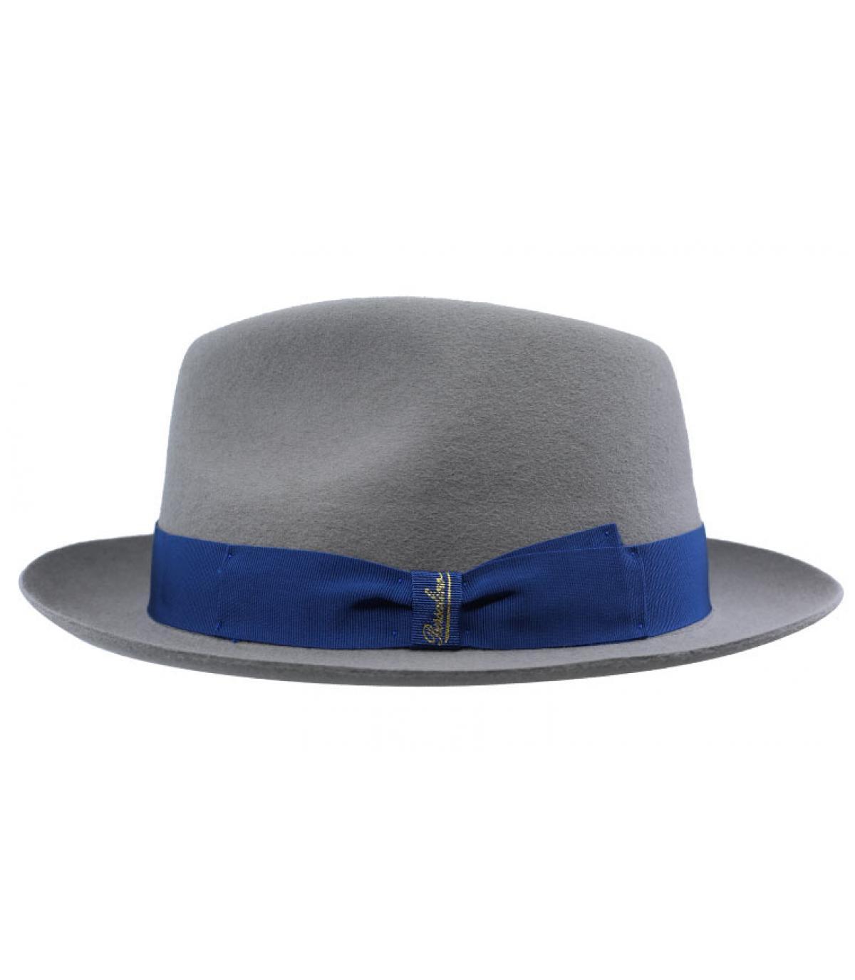 Detalles Grey Fur Felt Hat imagen 2