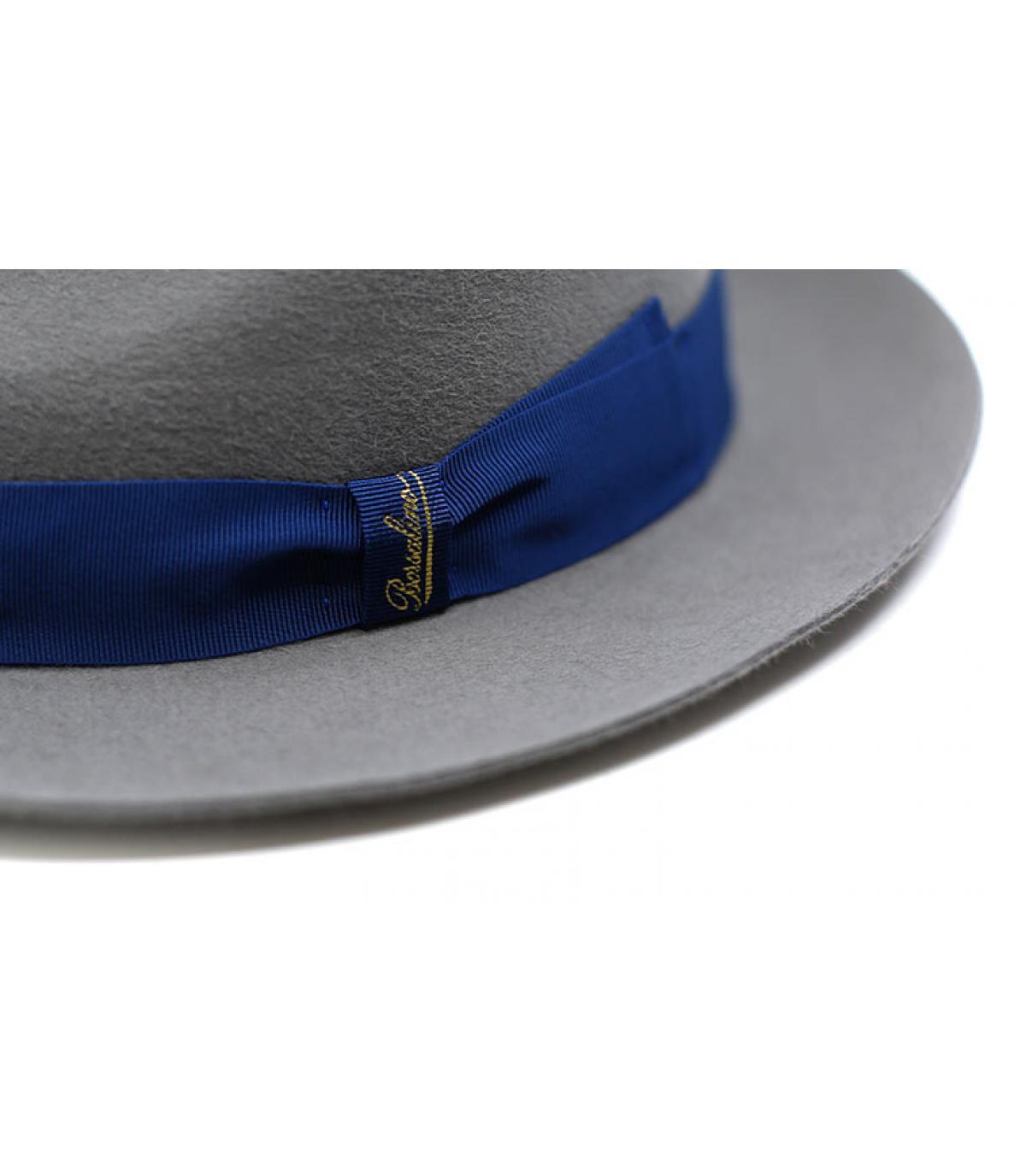Detalles Grey Fur Felt Hat imagen 3