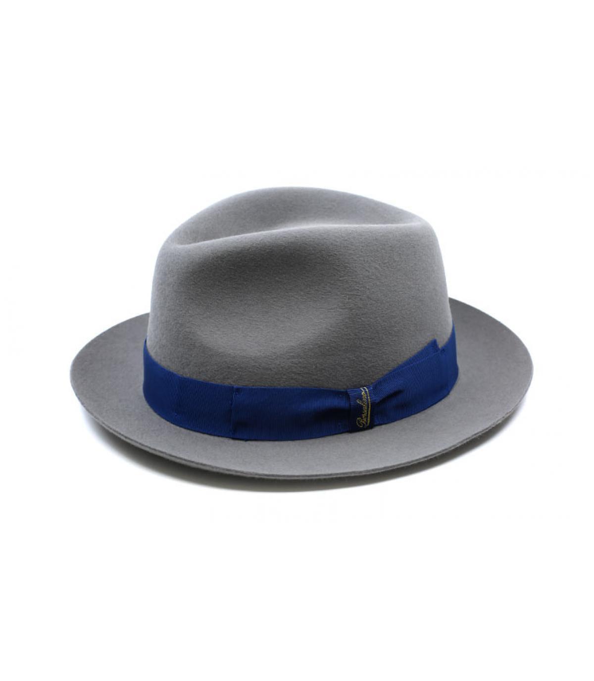 Detalles Grey Fur Felt Hat imagen 4