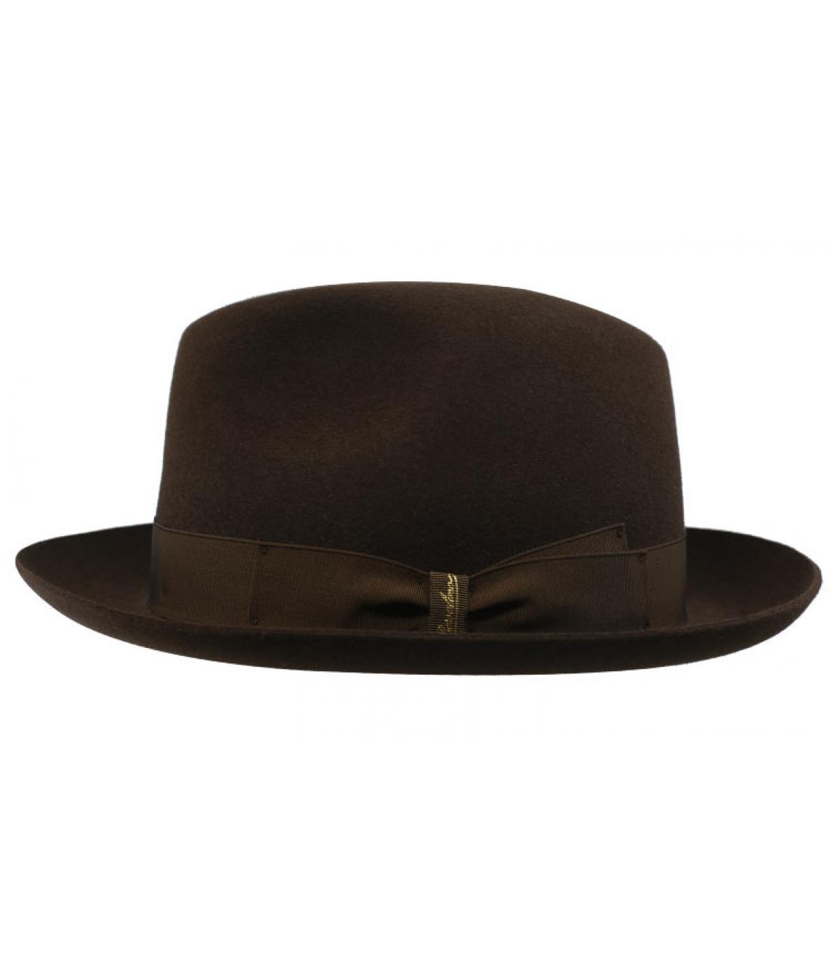 Detalles Marengo brown Fur Felt Hat imagen 2
