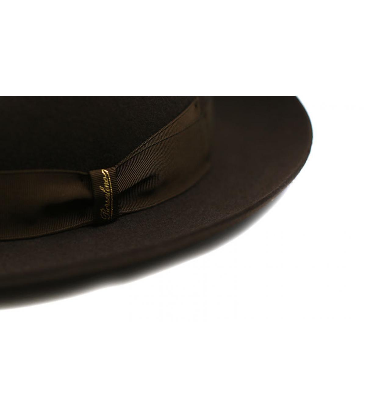 Detalles Marengo brown Fur Felt Hat imagen 3