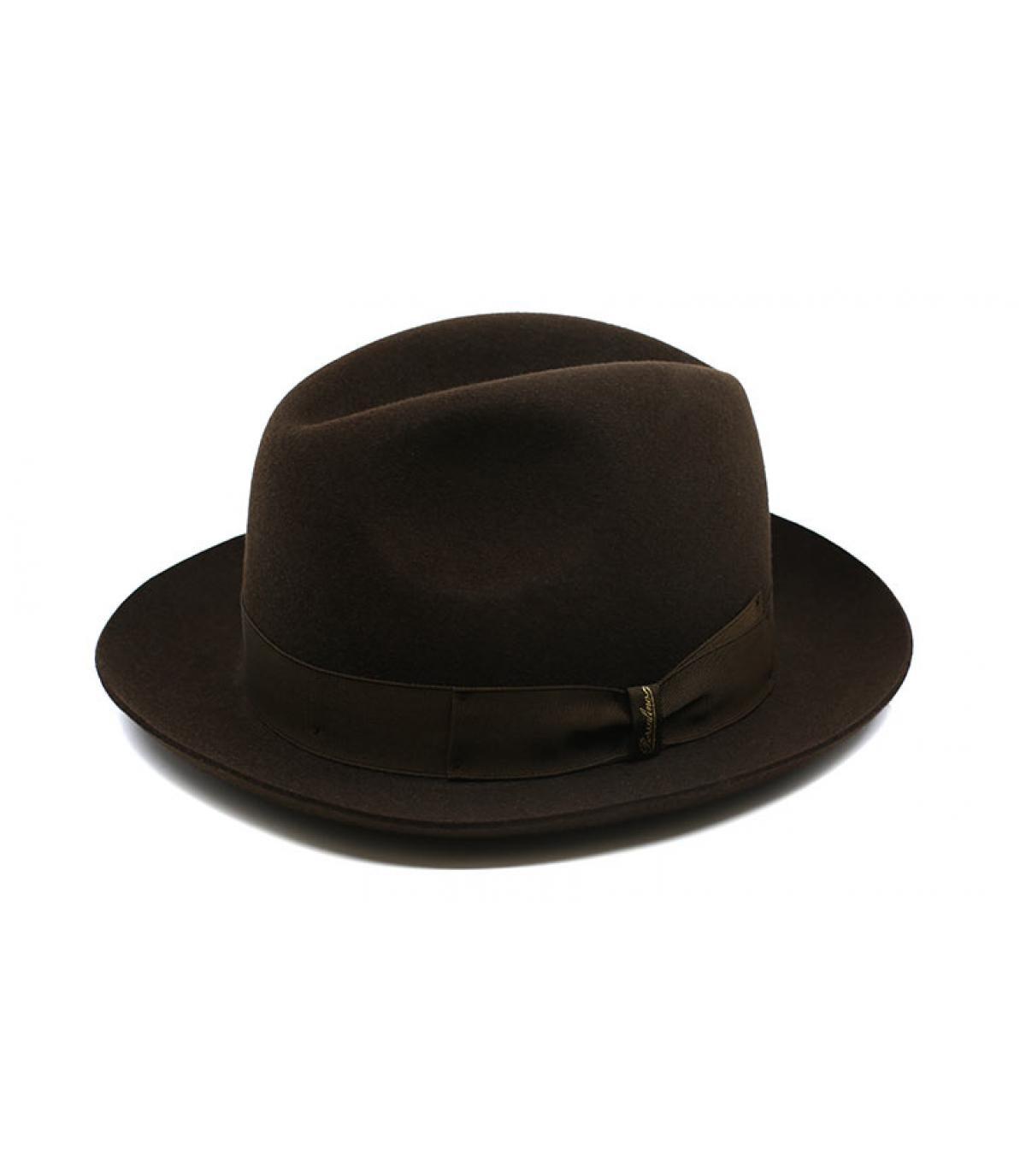 Detalles Marengo brown Fur Felt Hat imagen 4