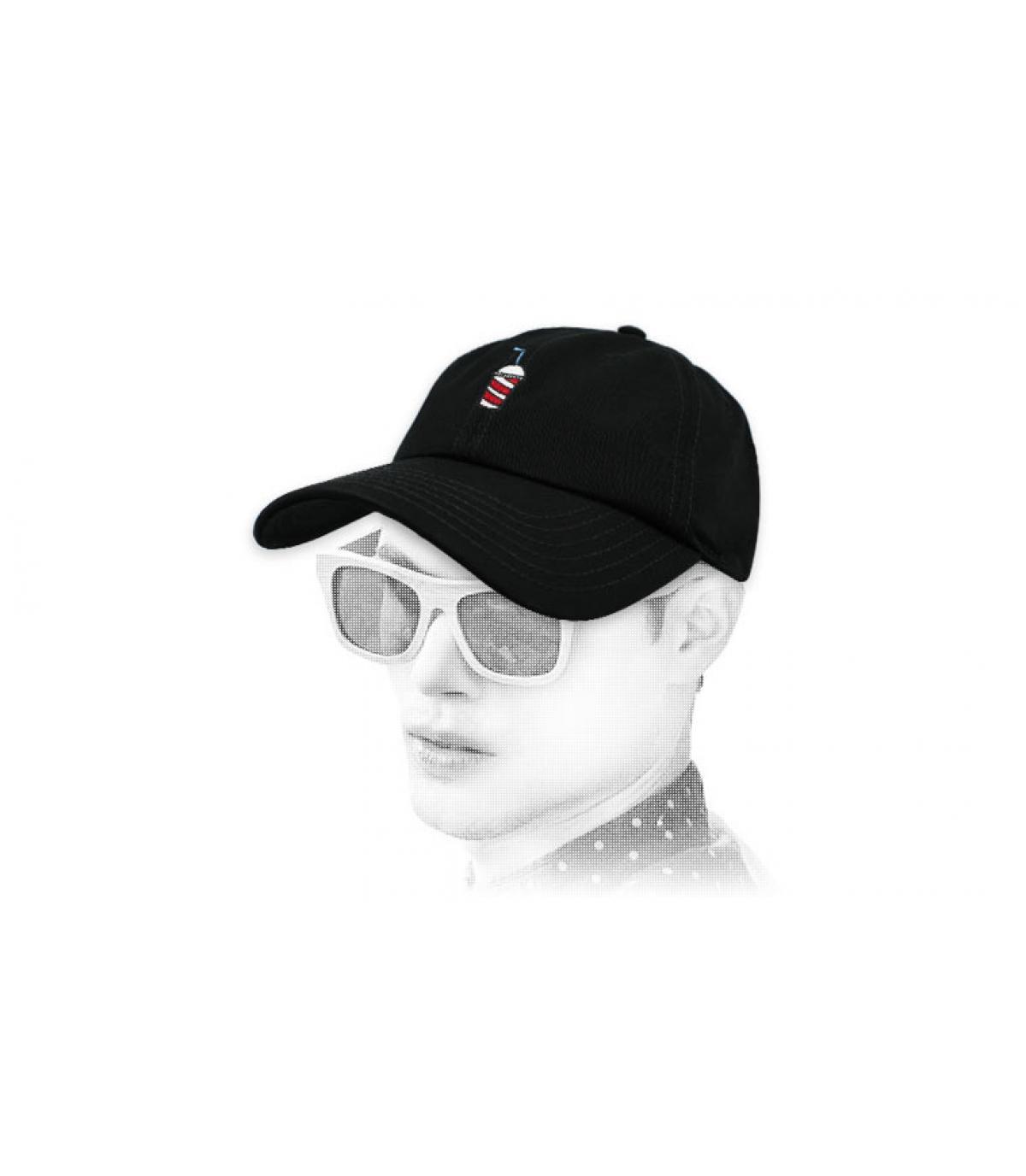 gorra batido negro Wemoto