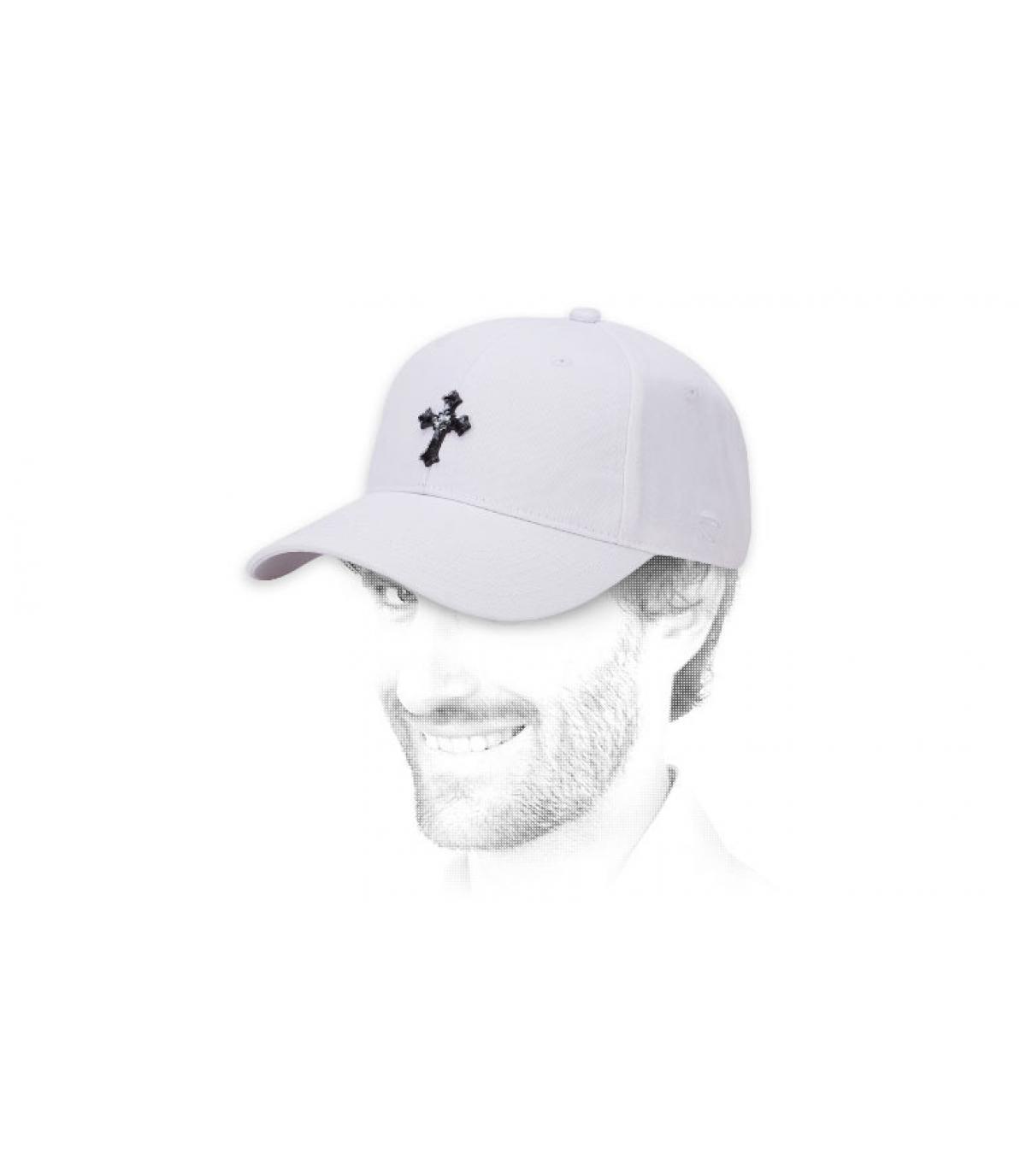 gorra Marley blanco