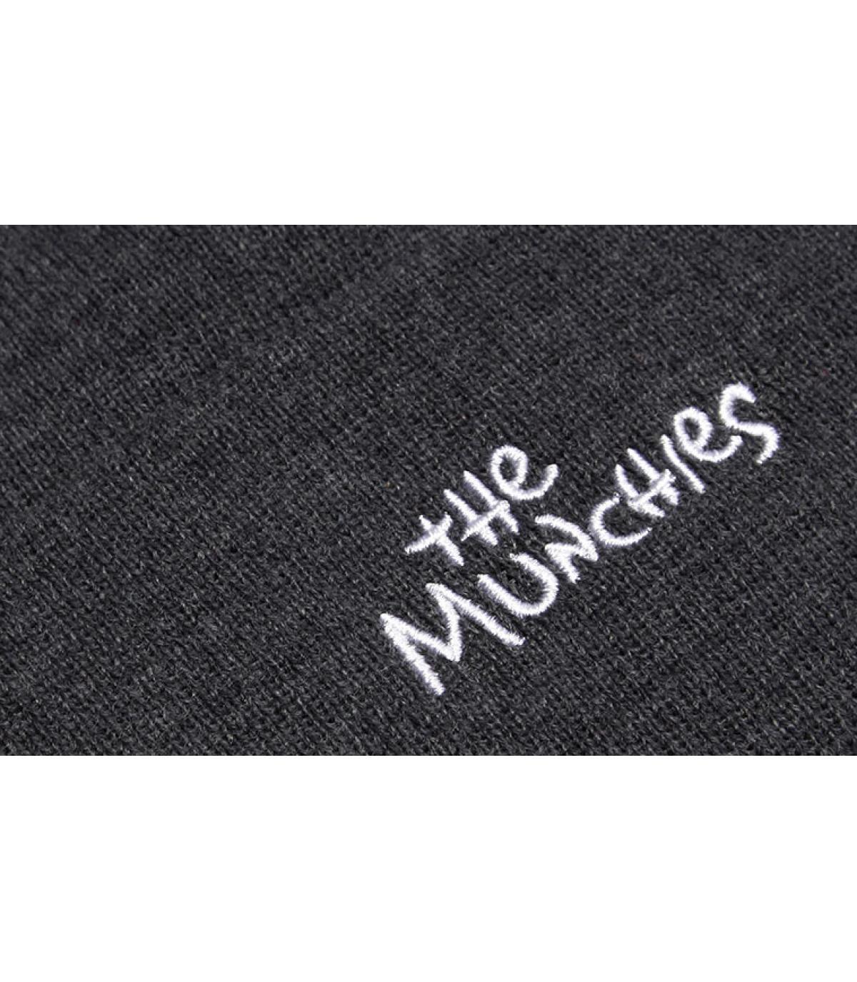 Detalles Los Munchos Beanie grey imagen 5