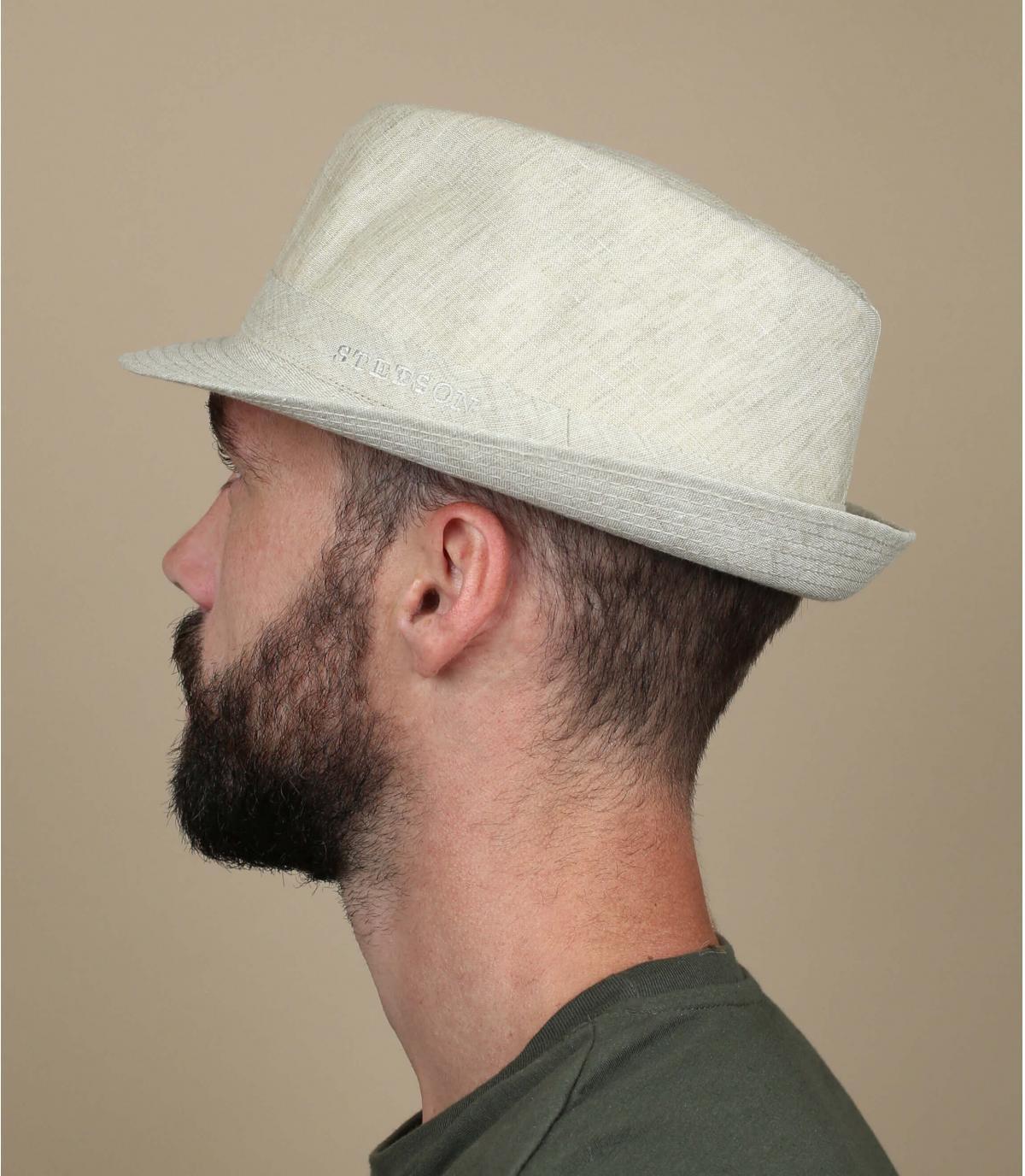 Sombrero lin ecru