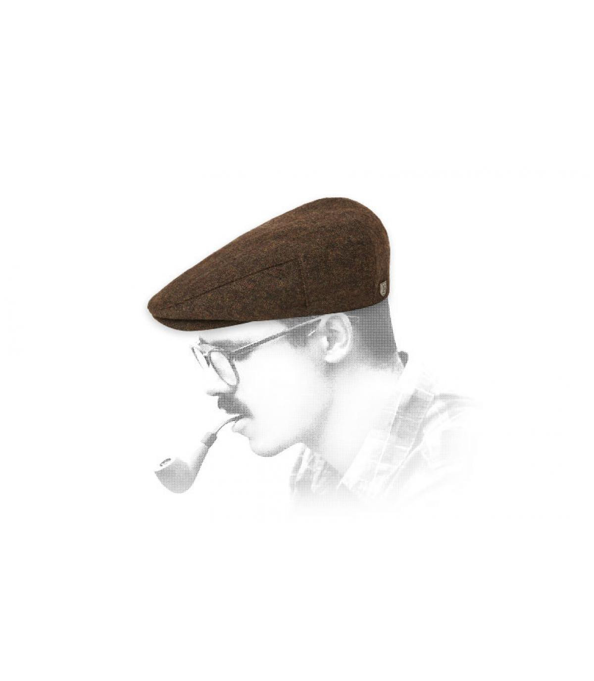 gorra marrón Brixton
