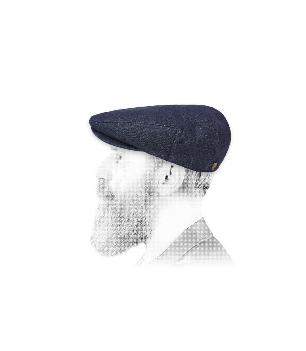 gorra tela vaquera Brixton