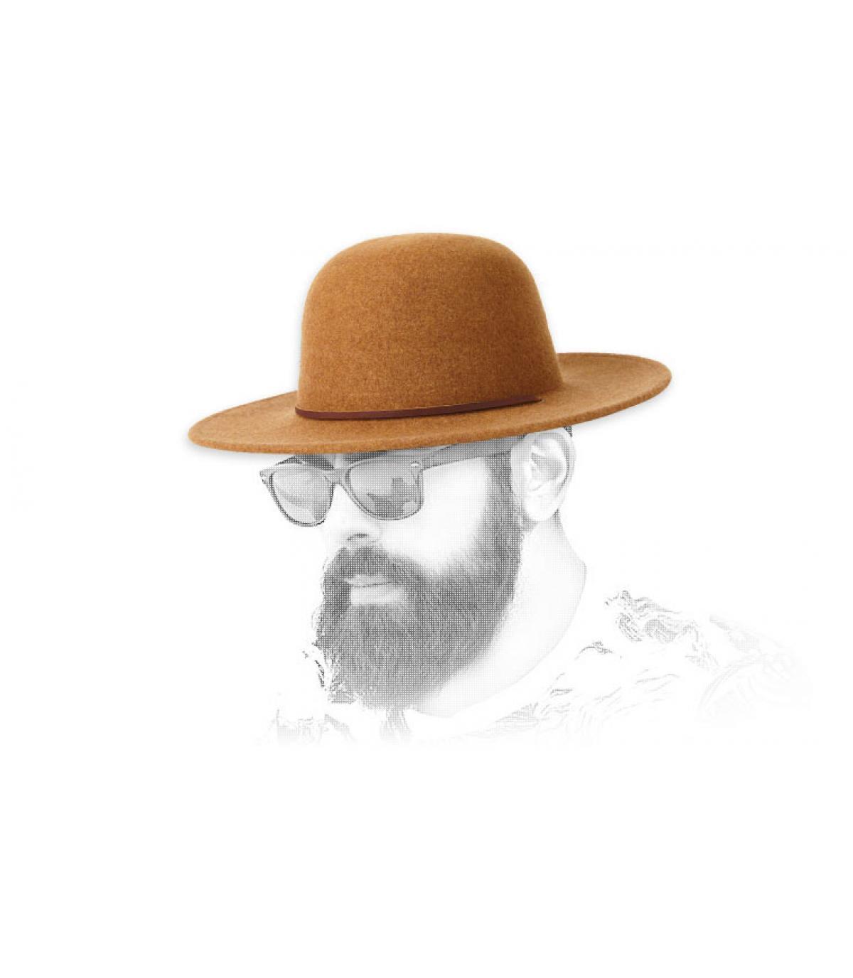 sombrero fieltro beis Brixton