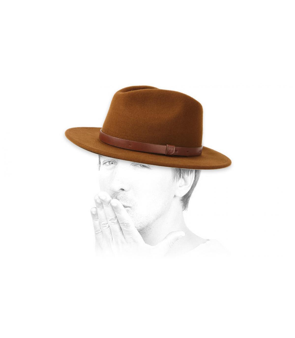 fedora marrón Brixton