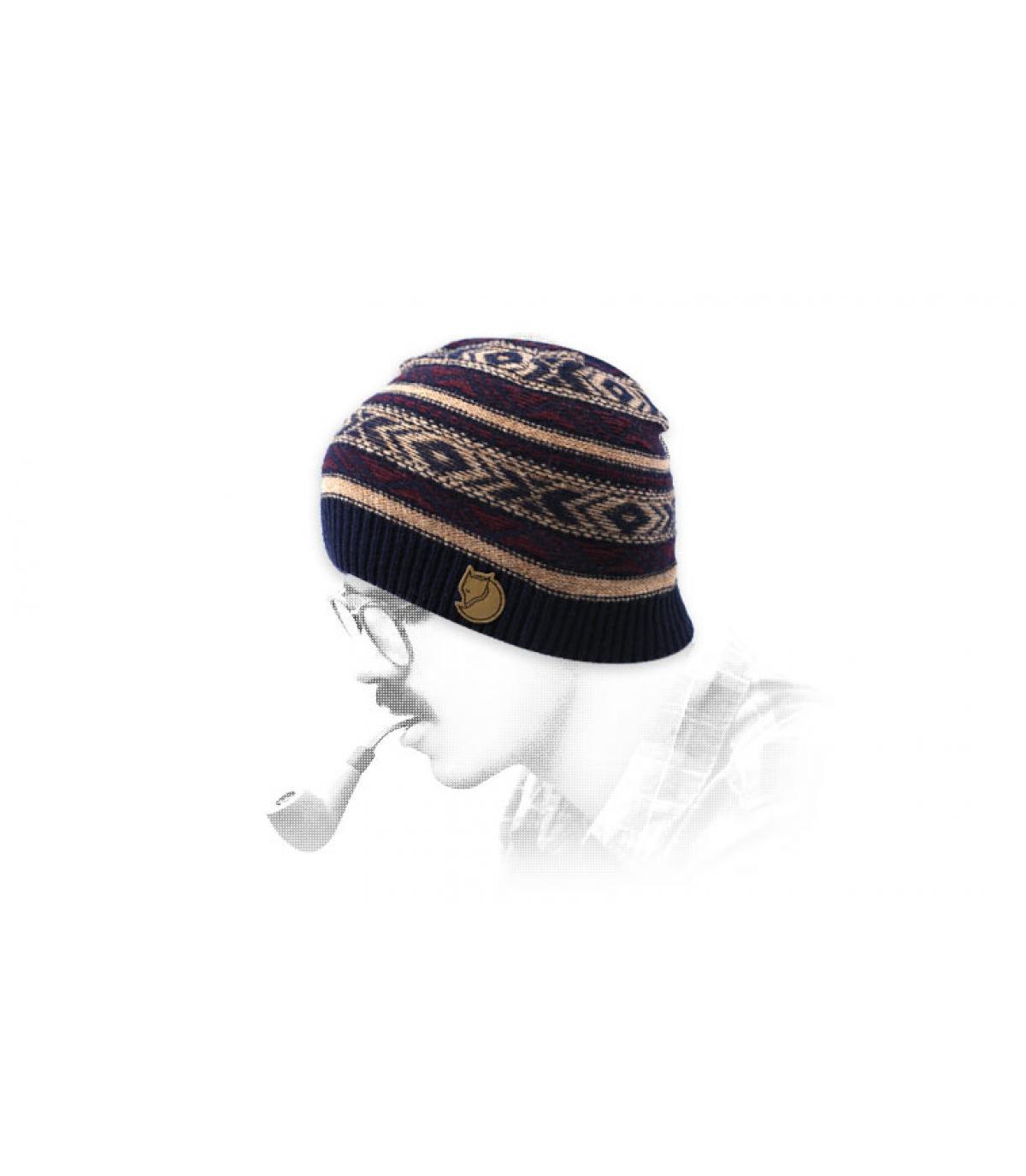 gorro estampado  lana Fjällräven