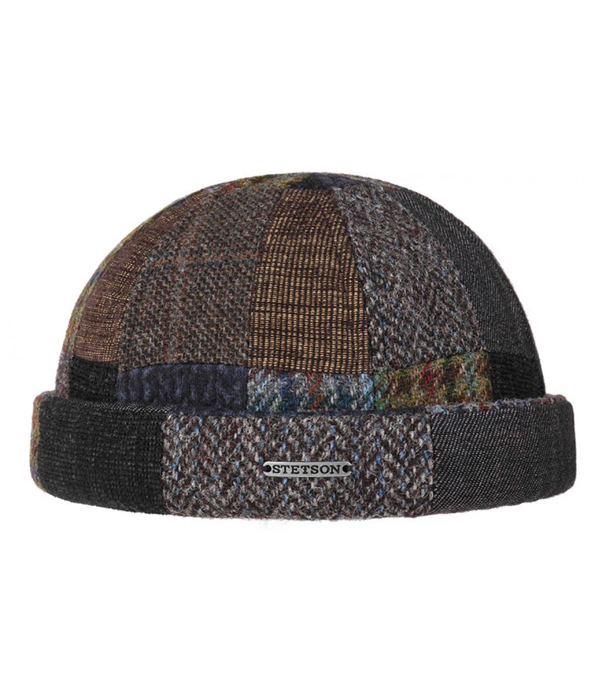 gorro docker patchwork lana