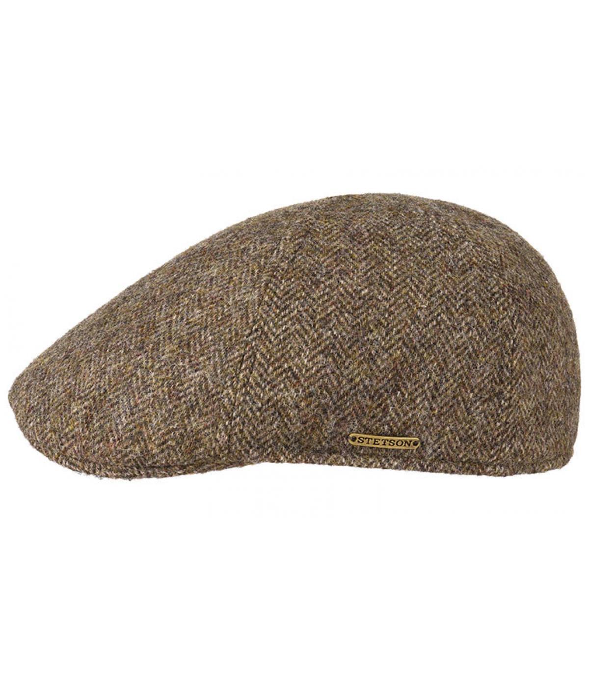 gorra duckbill marrón lana
