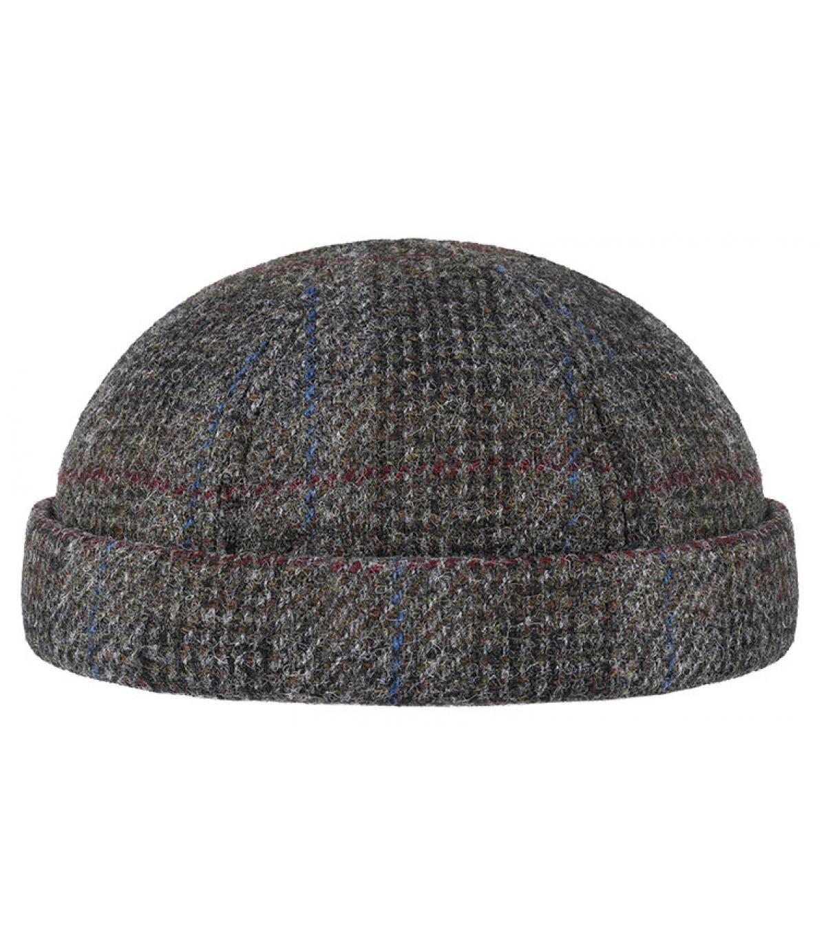 Detalles Docker Harris Tweed Virgin Wool grey imagen 2