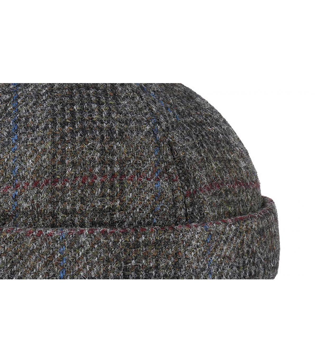 Detalles Docker Harris Tweed Virgin Wool grey imagen 3