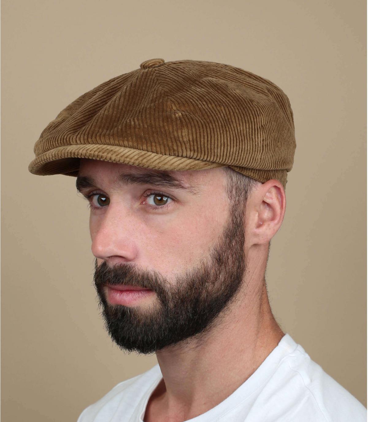 gorra repartidor pana beis